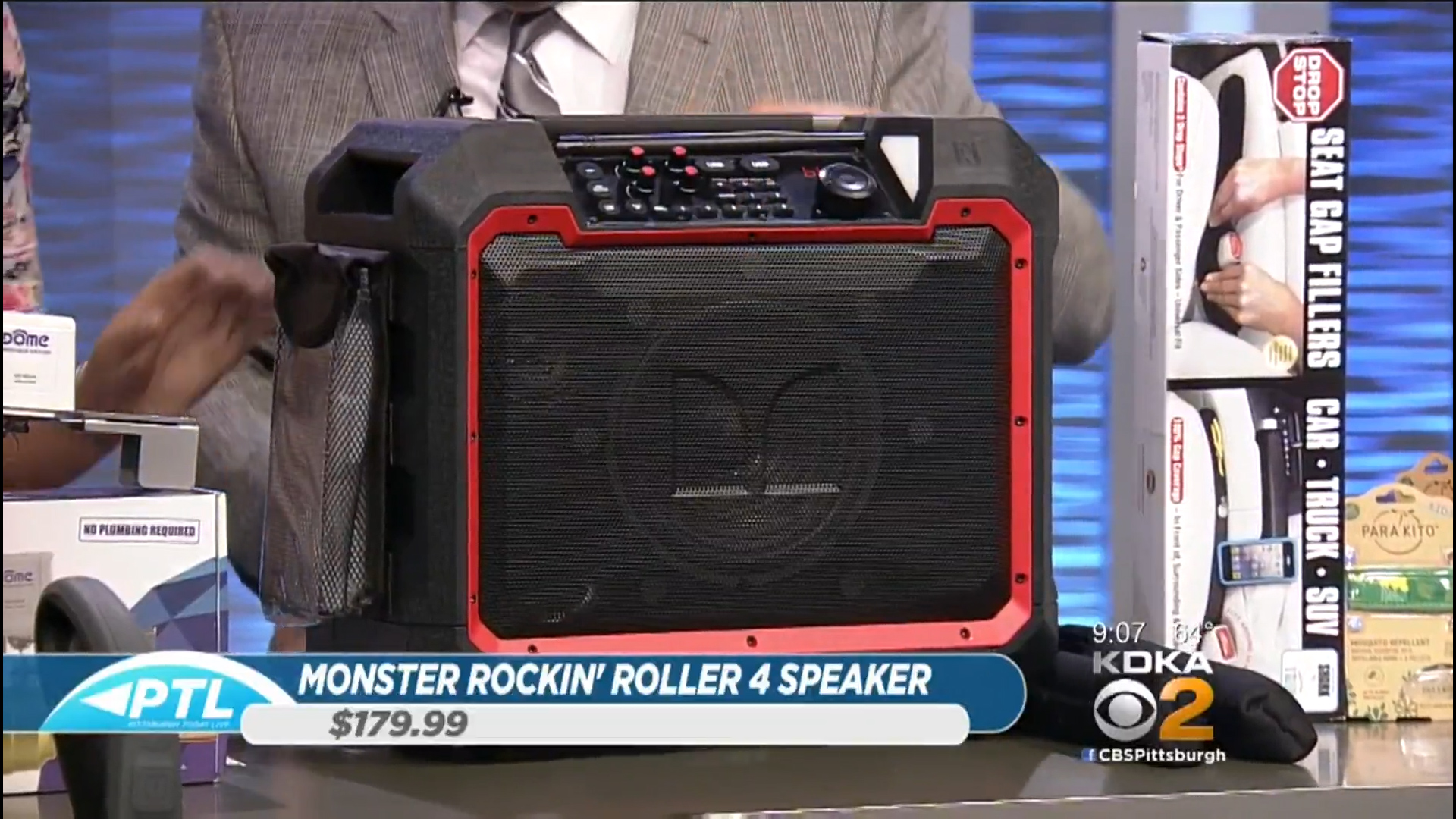 MONSTER ROCKIN' ROLLER 4 (RUGGED BLUETOOTH SPEAKER - $179.99Shop Now (via Sam's Club)