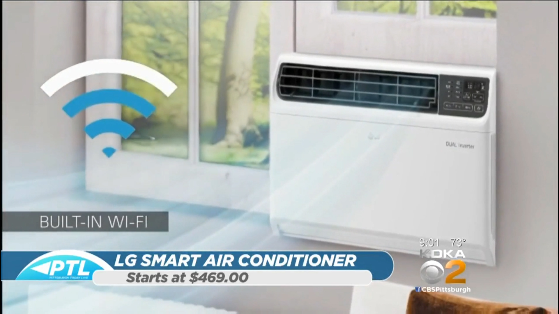 LG DUAL INVERTER SMART AIR CONDITIONER - Starts at $469.00Shop Now