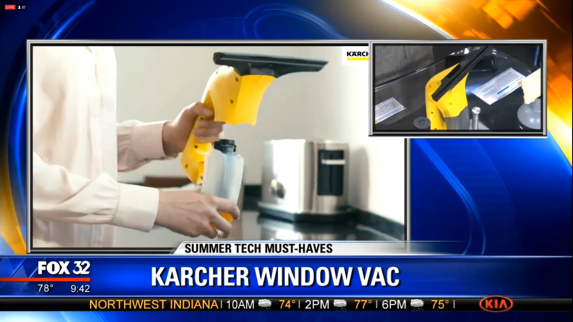 KARCHER WV1 WINDOW VAC - $79.99Shop Now