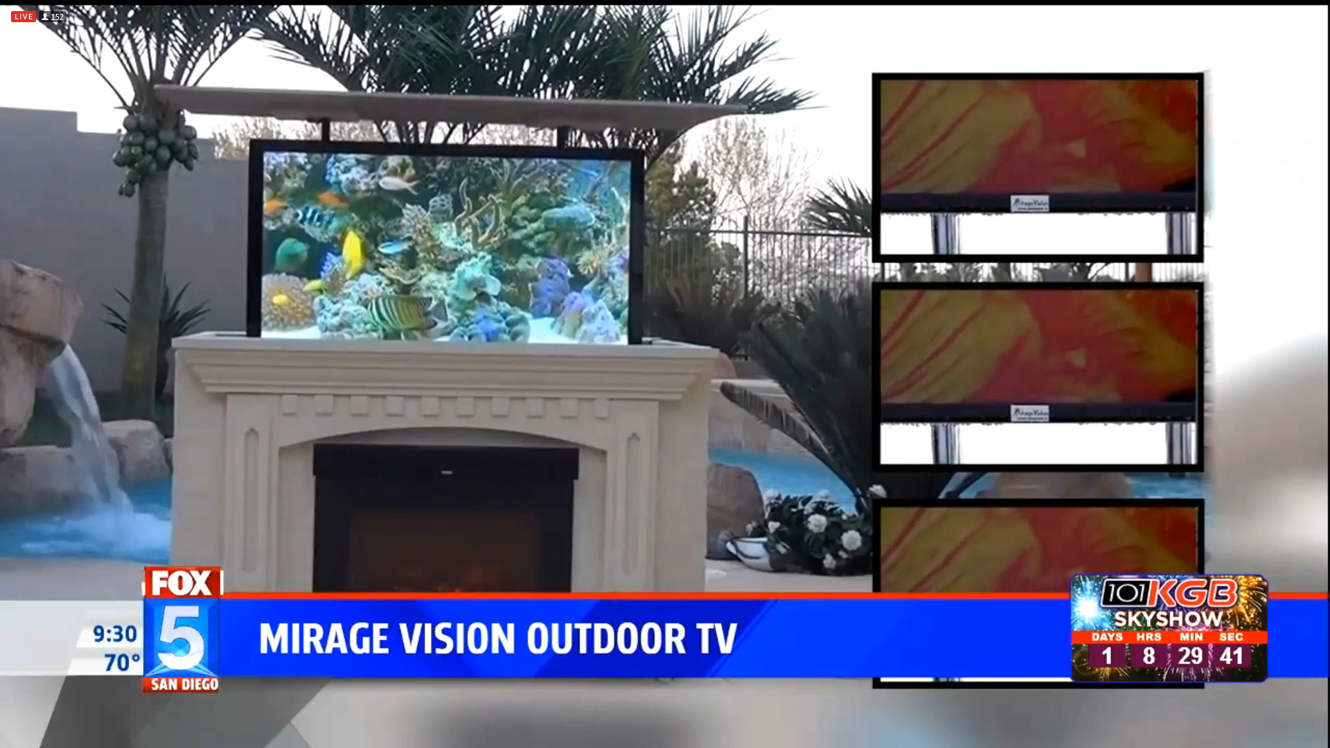 MIRAGE VISION OUTDOOR TV - Starting at $950.00Shop Now