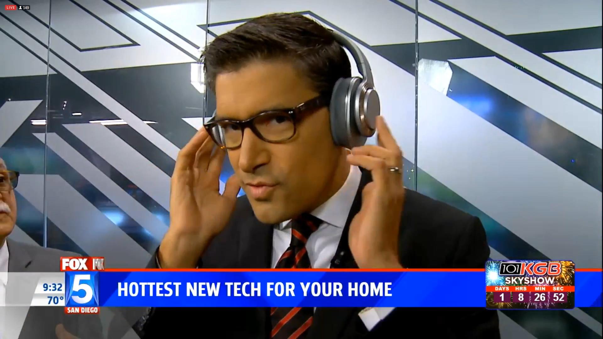 CLEER FLOW HYBRID NOISE CANCELLING HEADPHONES - $279.99Shop Now