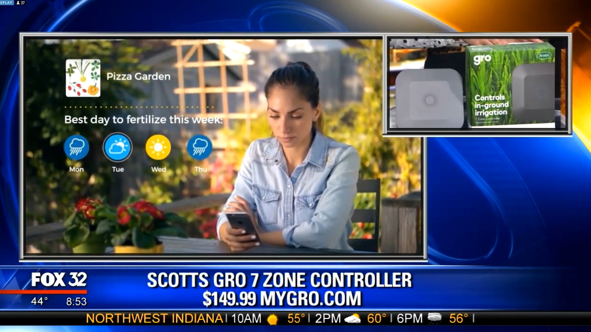 SCOTTS GRO 7 ZONE CONTROLLER - $149.99Shop Now