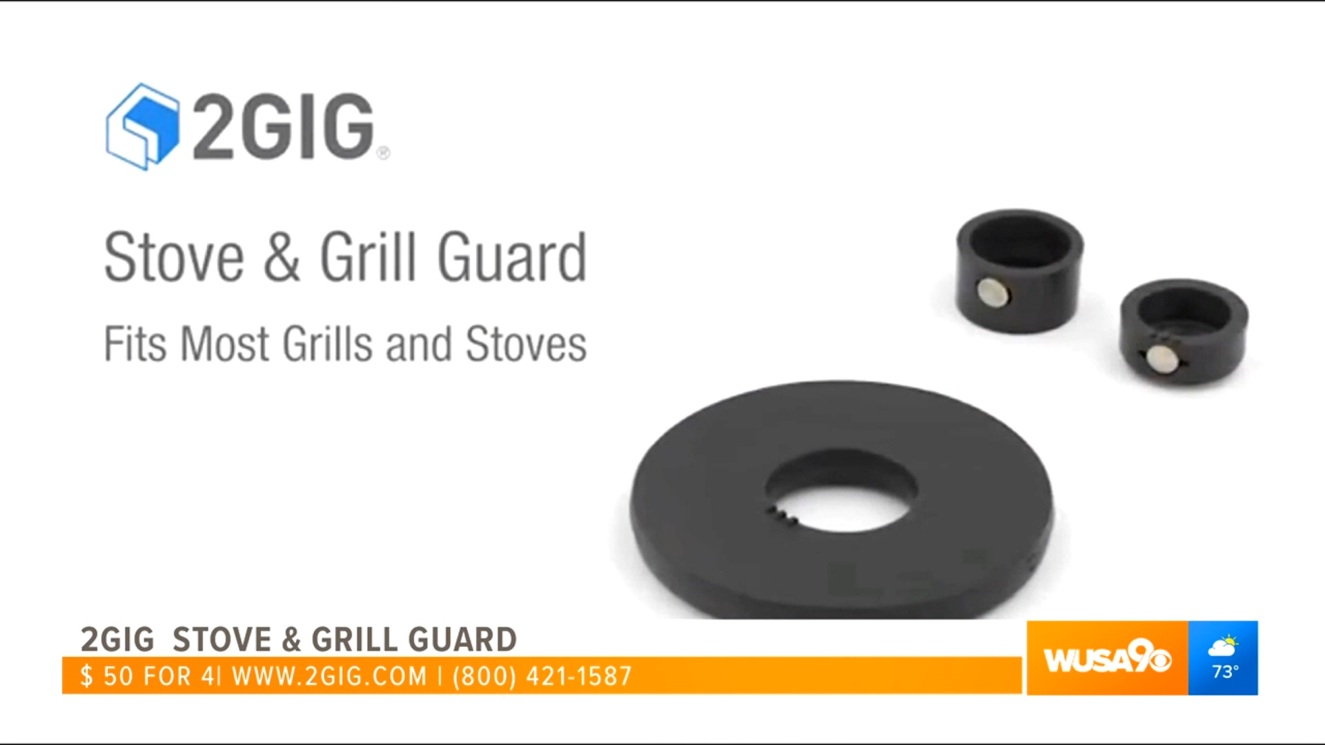 2GIG STOVE & GRILL GUARD - $50.00 or 4 for $187.00Shop Now