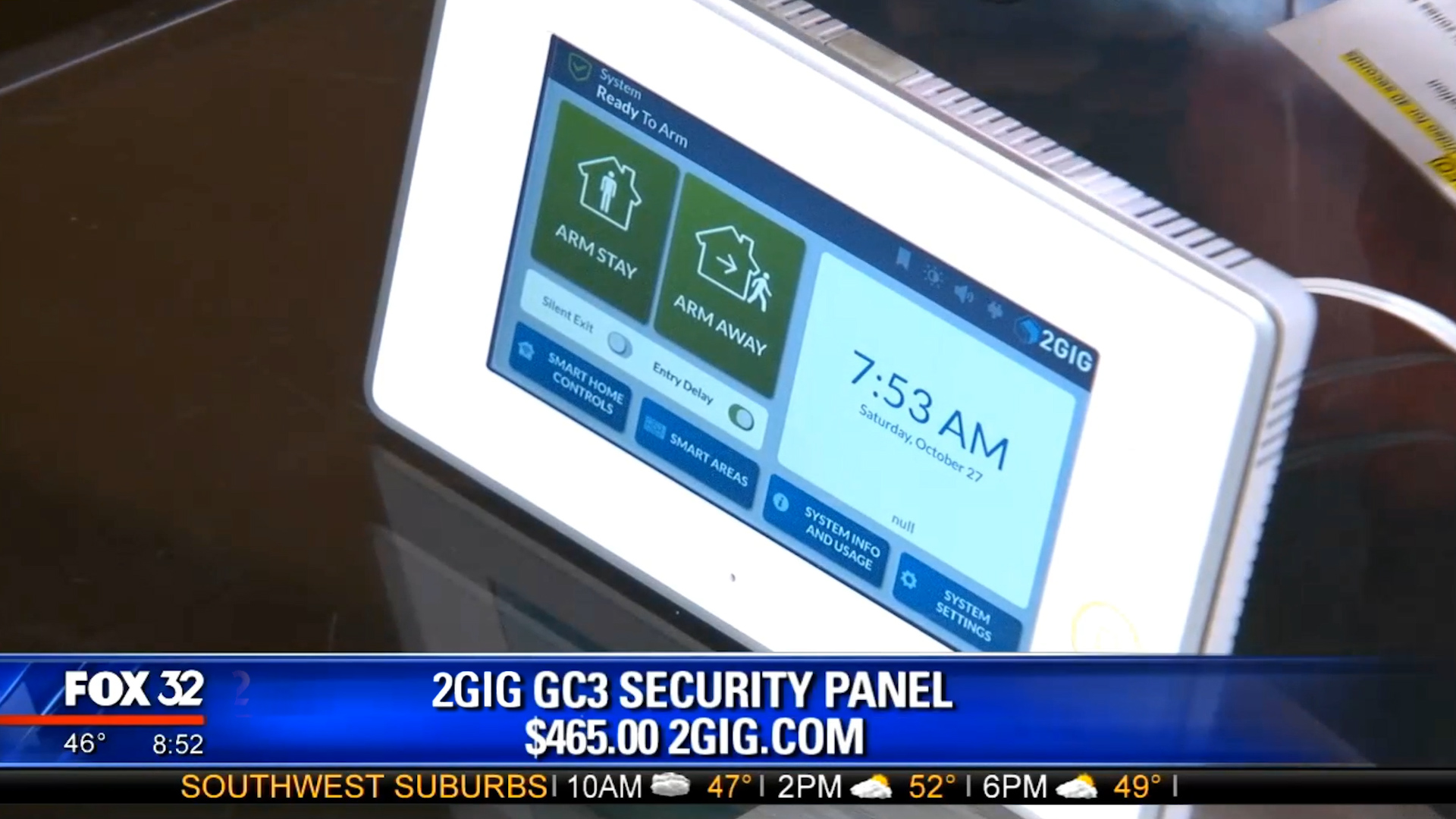 2GIG GC3 SECURITY PANEL - $465.00Shop Now