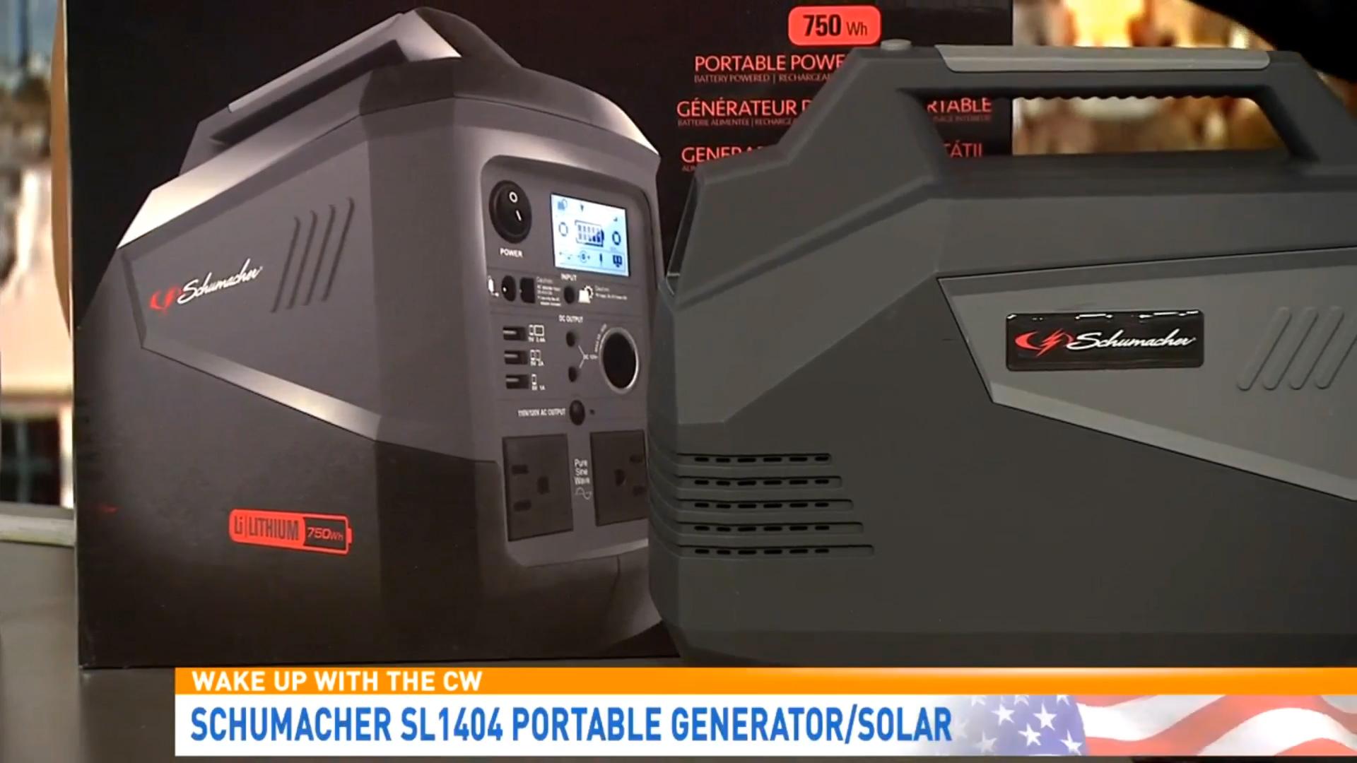 SCHUMACHER SL1404 PORTABLE GENERATOR/SOLAR - $1199.95Shop Now