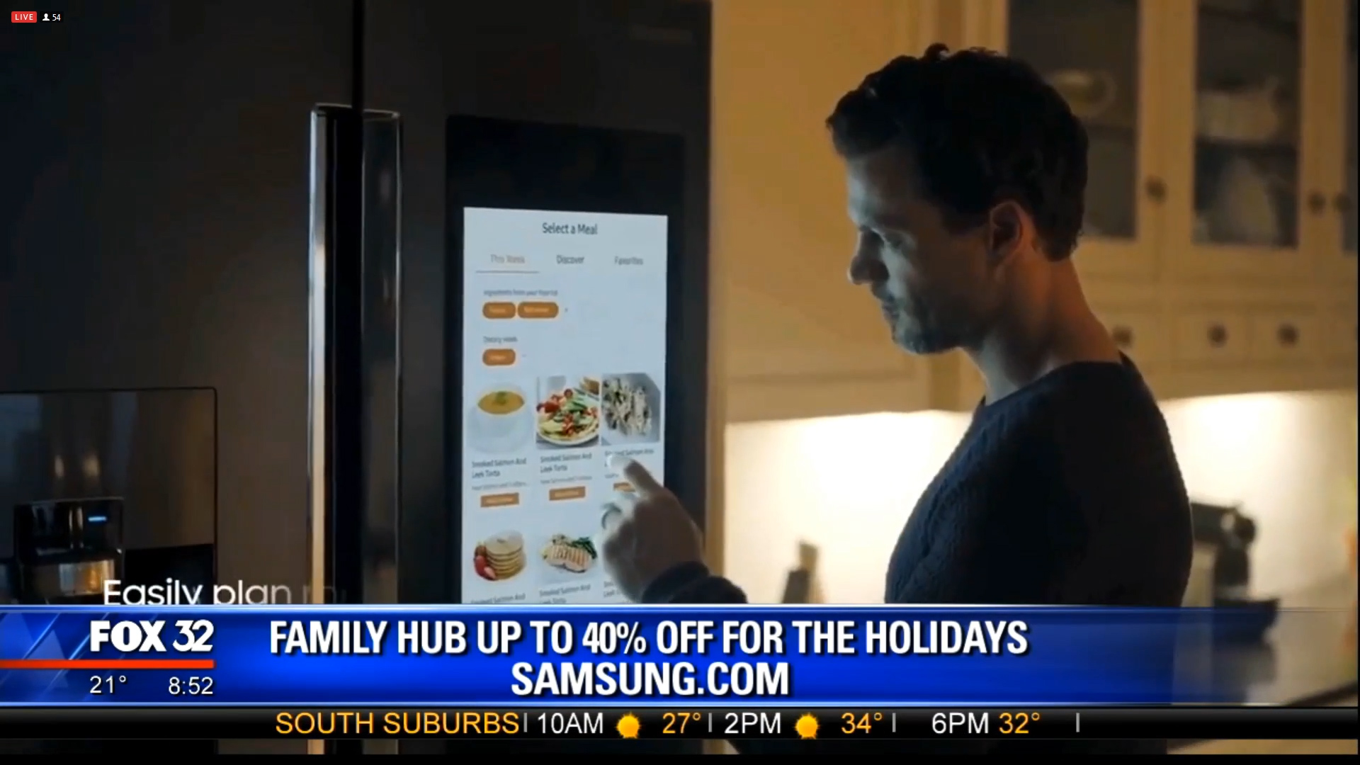 SAMSUNG FAMILY HUB - Up to 40% off for the holidaysShop Now