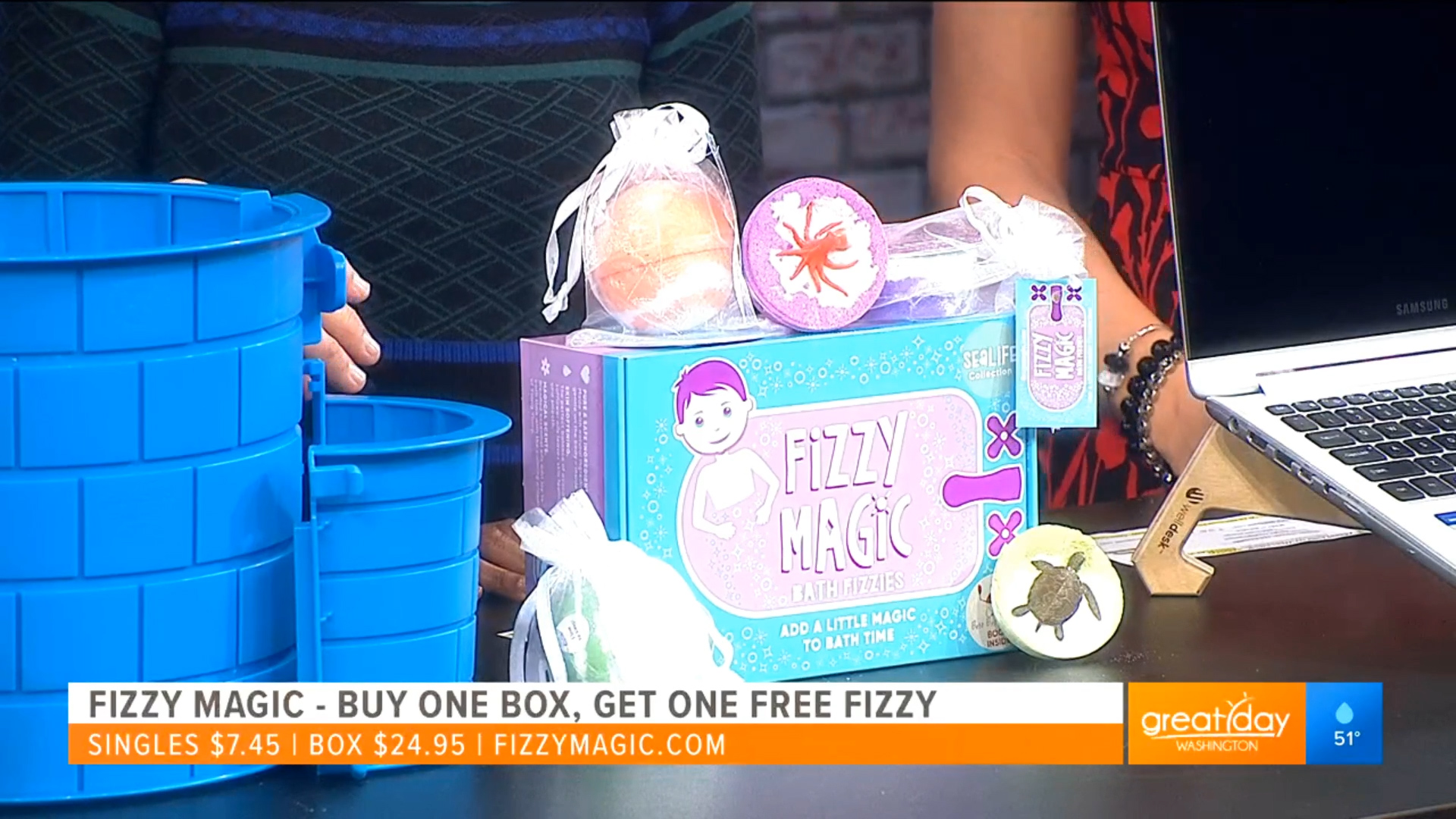 FIZZY MAGIC - Singles $7.45Box of 5 w/book $24.95 Shop Now