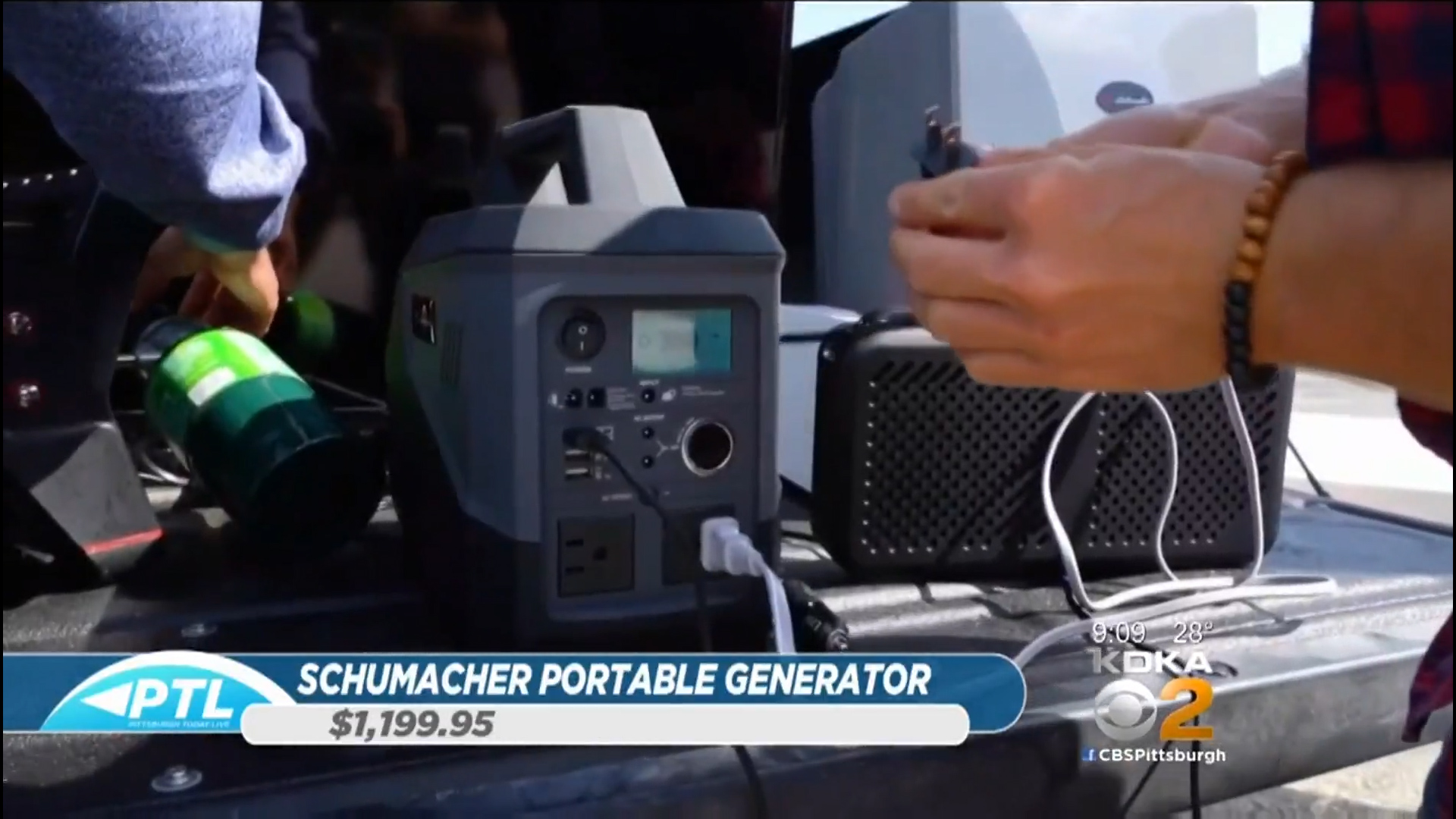 SCHUMACHER SL1404 PORTABLE GENERATOR/SOLAR - $1,199.95Shop Now