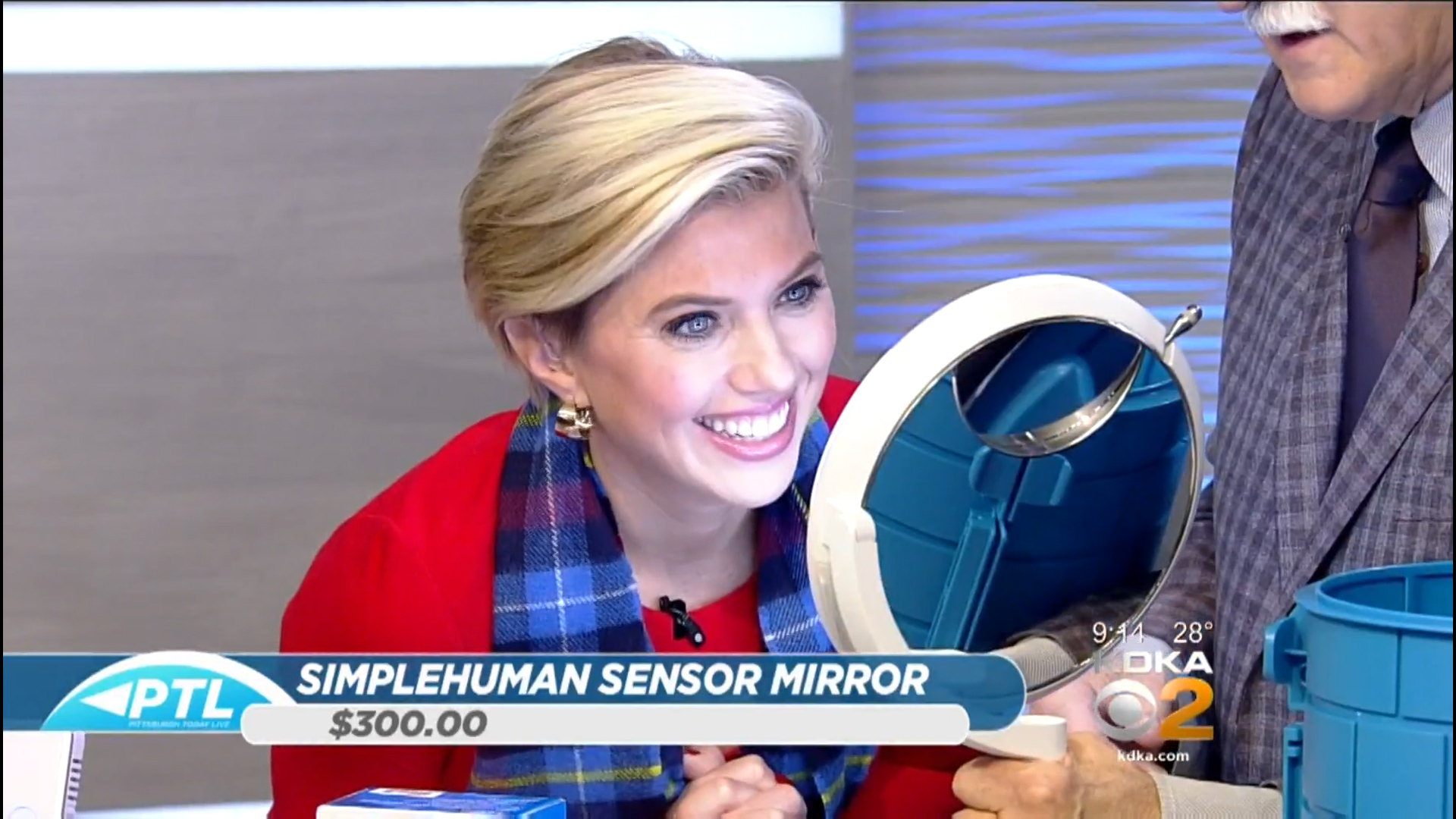 SIMPLEHUMAN SENSOR MIRROR TRIO - $300.00Shop Now