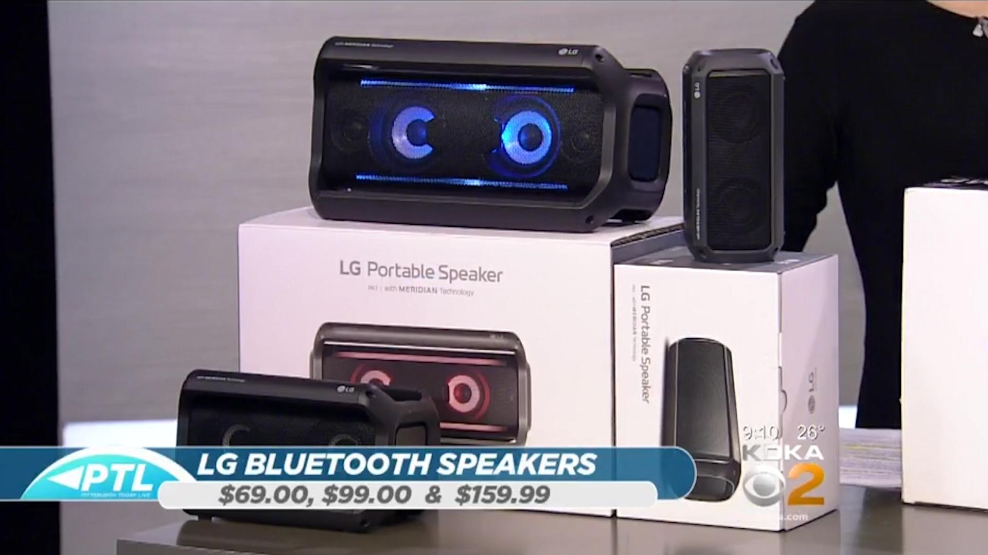LG XBOOM PK 3, PK 5, & PK7 BLUETOOTH SPEAKERS - $69.00, $99.00,& $159.99Shop Now