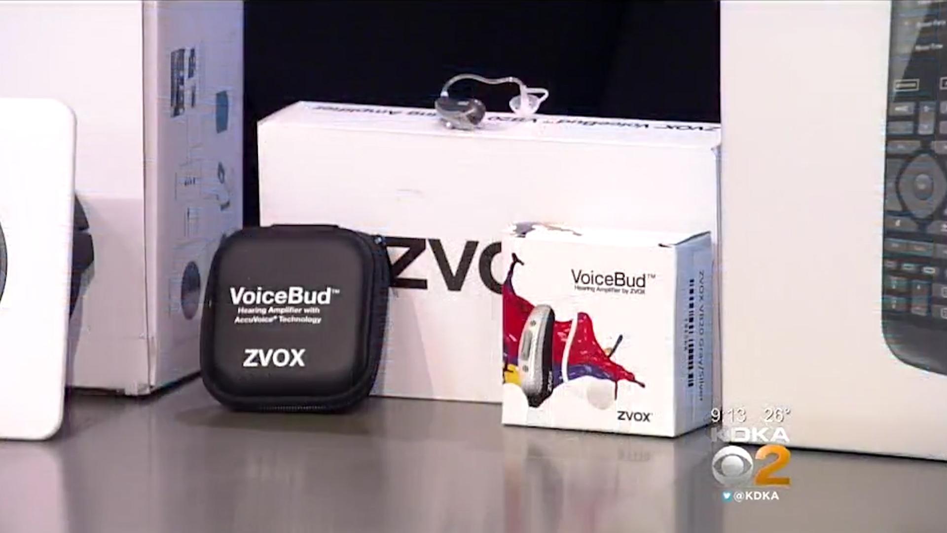 ZVOX VoiceBud VB20 Hearing Amplifiers Dual-Microphone FDA Registered - $299.99 eachShop Now