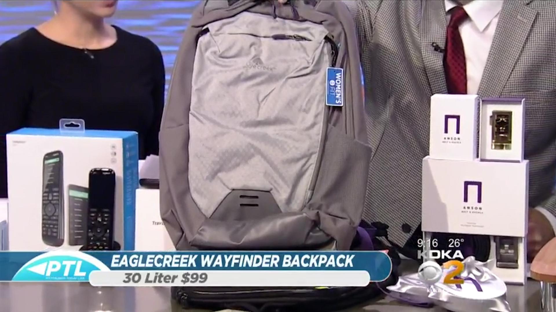 EAGLECREEK Wayfinder Backpack 30L - $99.00Shop Now