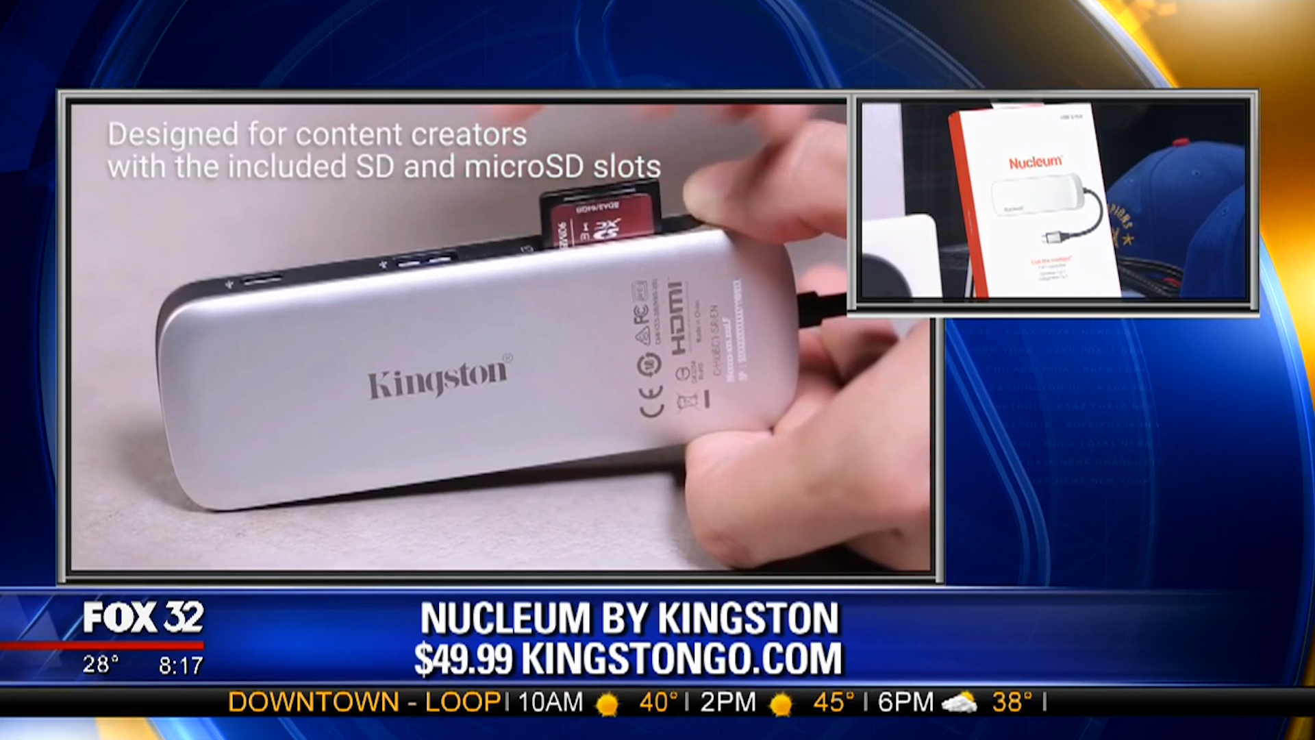 NUCLEUM by KINGSTON (7-in-1 Type-C Hub) - $49.99Shop Now