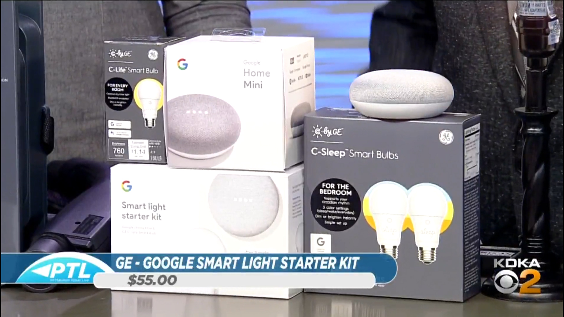 GE – GOOGLE SMART LIGHT STARTER KIT - $55.00Shop Now, also available at Lowe's