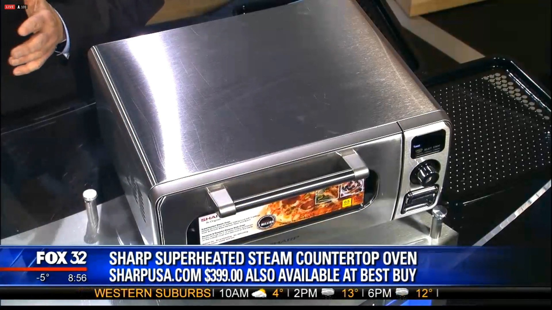 SHARP SUPERHEATED STEAM COUNTERTOP OVEN - $399.00Shop Now