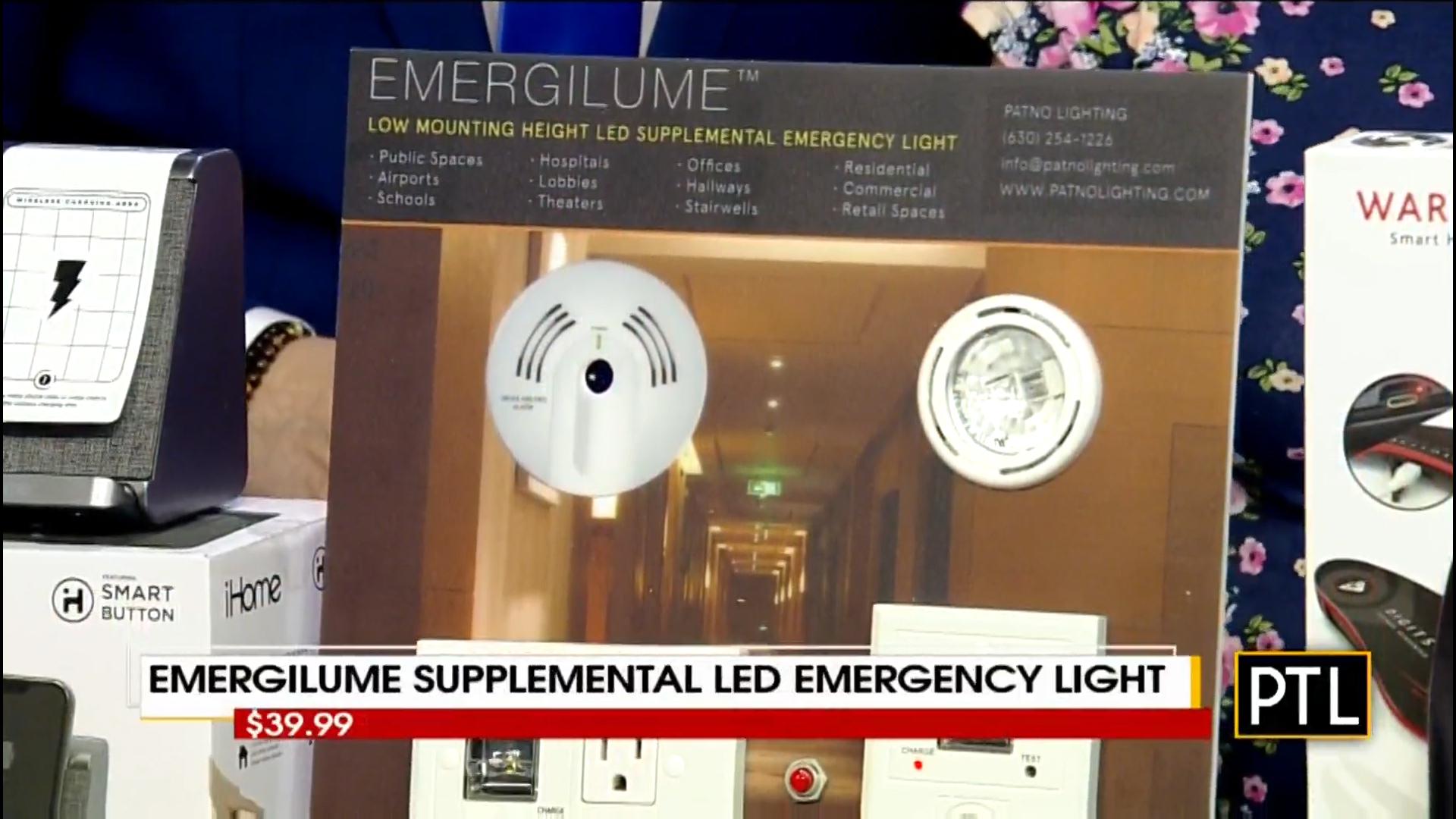 EMERGILUME SUPPLEMENTAL LED EMERGENCY LIGHT - $39.99Shop Now
