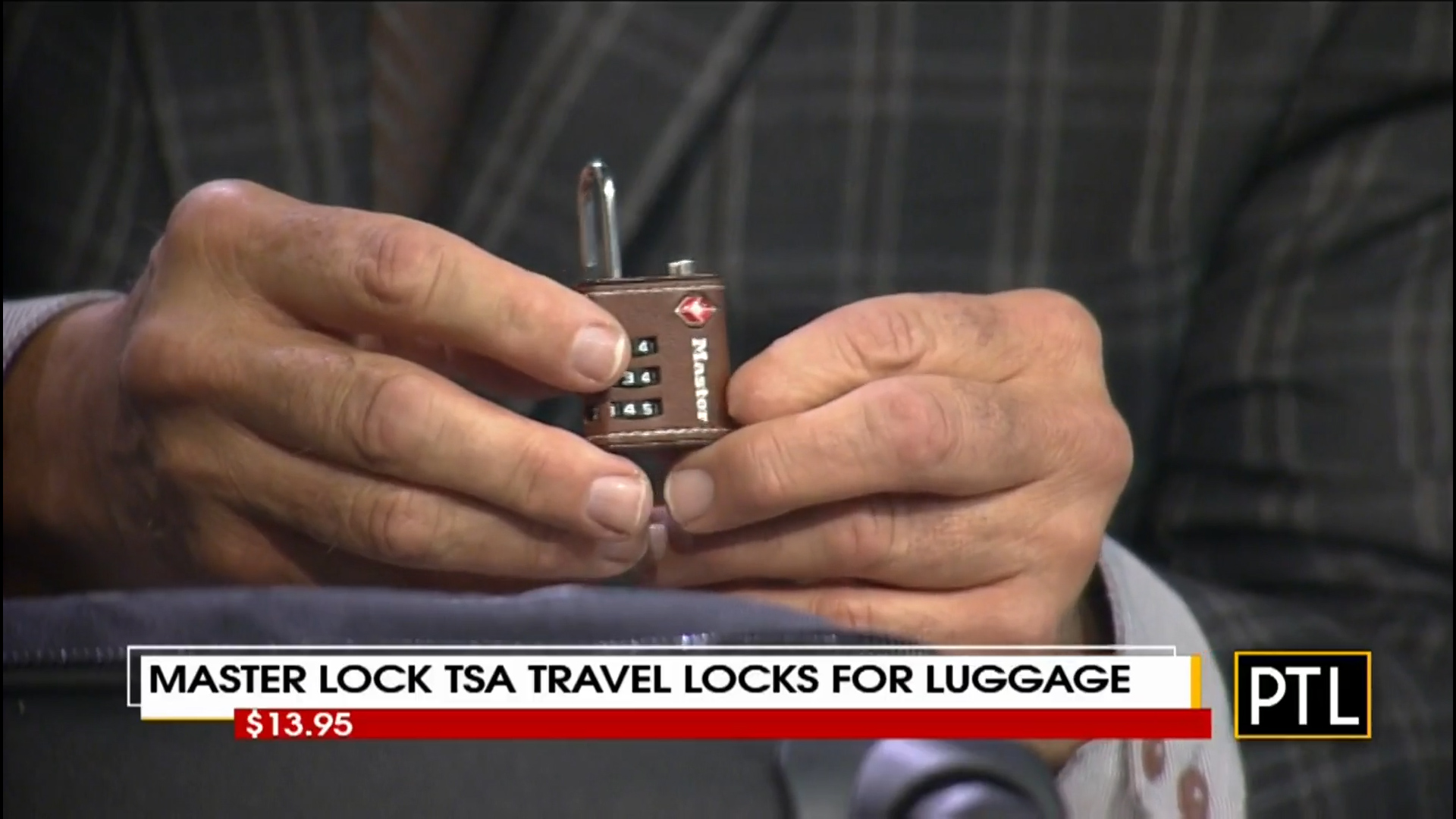 MASTER LOCK TSA TRAVEL LOCKS for LUGGAGE - $13.95Shop Now