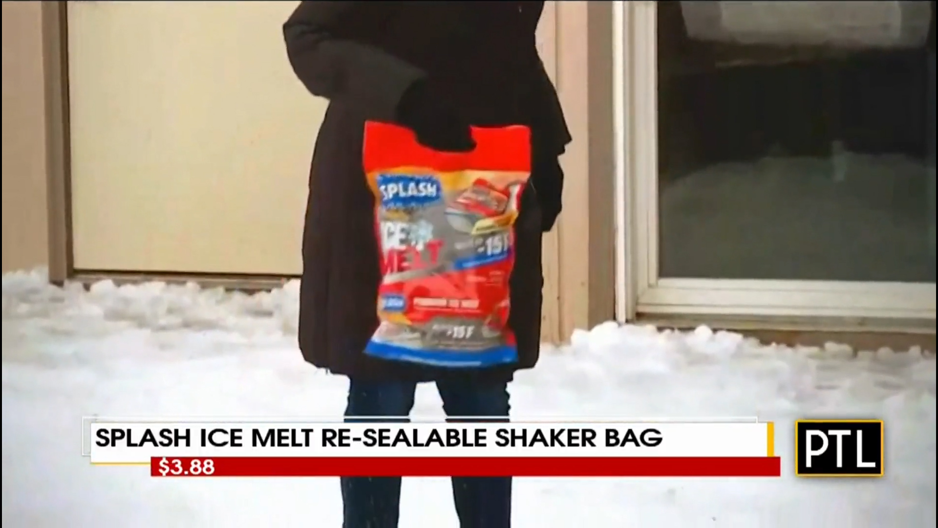 SPLASH ICE MELT RE-SEALABLE SHAKER BAG - $3.88Shop Now