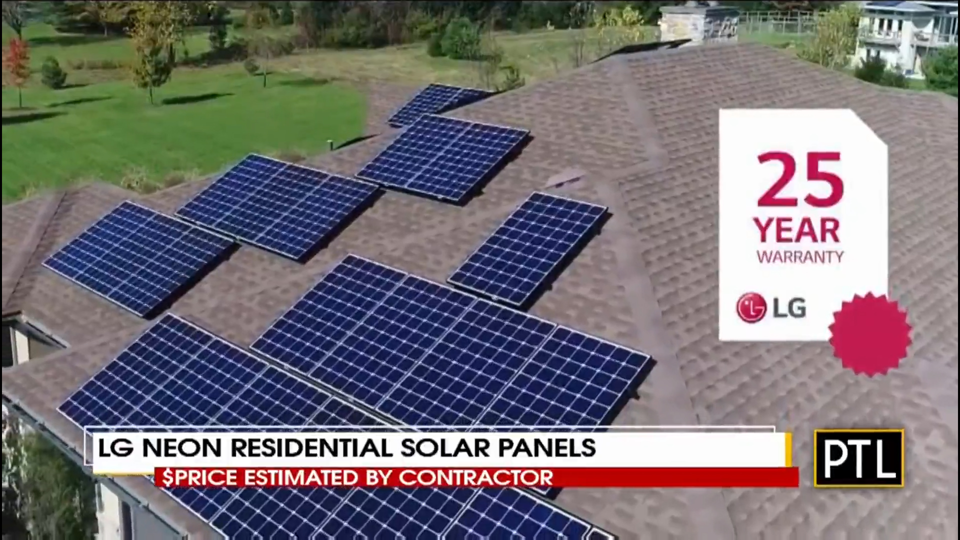 LG NeON RESIDENTIAL SOLAR PANELS     - $ Estimate by Certified Contractor Shop Now