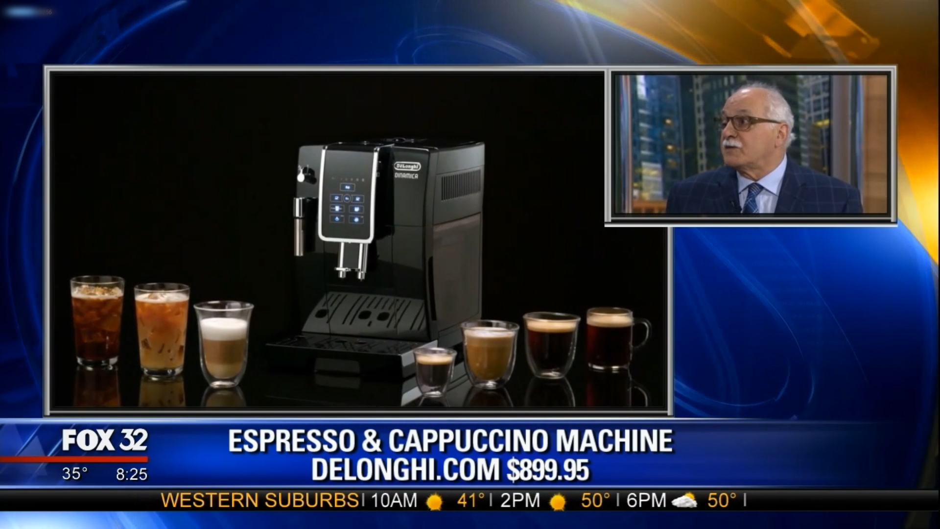 DINAMICA ESPRESSO & CAPPUCCINO MACHINE by DELONGHI - $899.95Shop Now