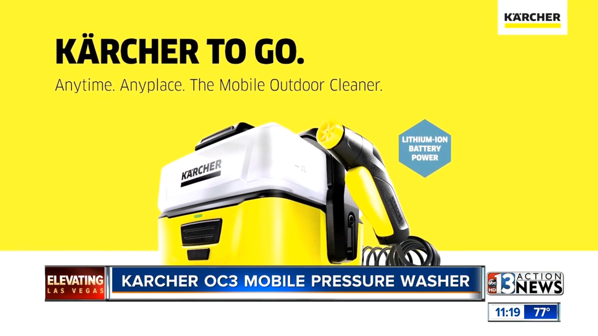KARCHER OC3 MOBILE PRESSURE WASHER - $189.99Shop Now