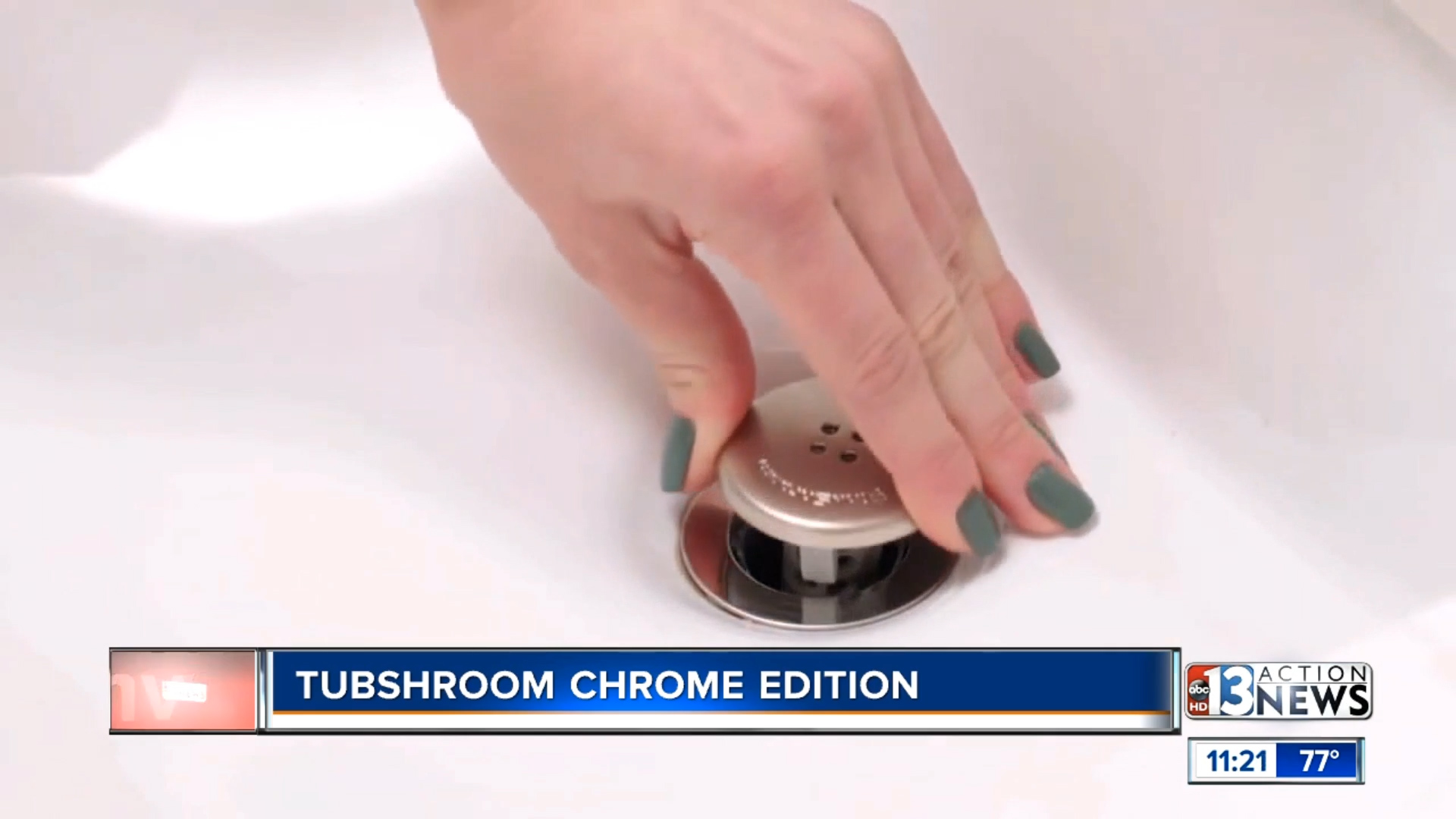 TUBSHROOM CHROME EDITION – BLACK OR CLEAR - $12.99Shop Now
