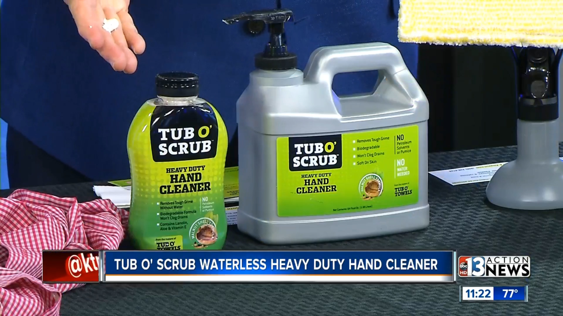 TUB O SCRUB WATERLESS HEAVY DUTY HAND CLEANER - Starting at $7.99Shop Now
