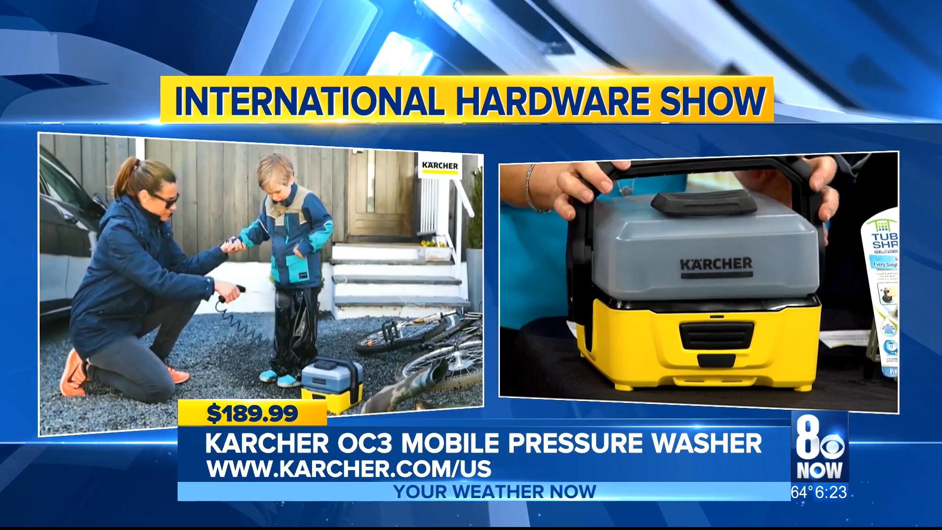 KARCHER OC3 MOBILE PRESSURE WASHER - $189.99Shop Now