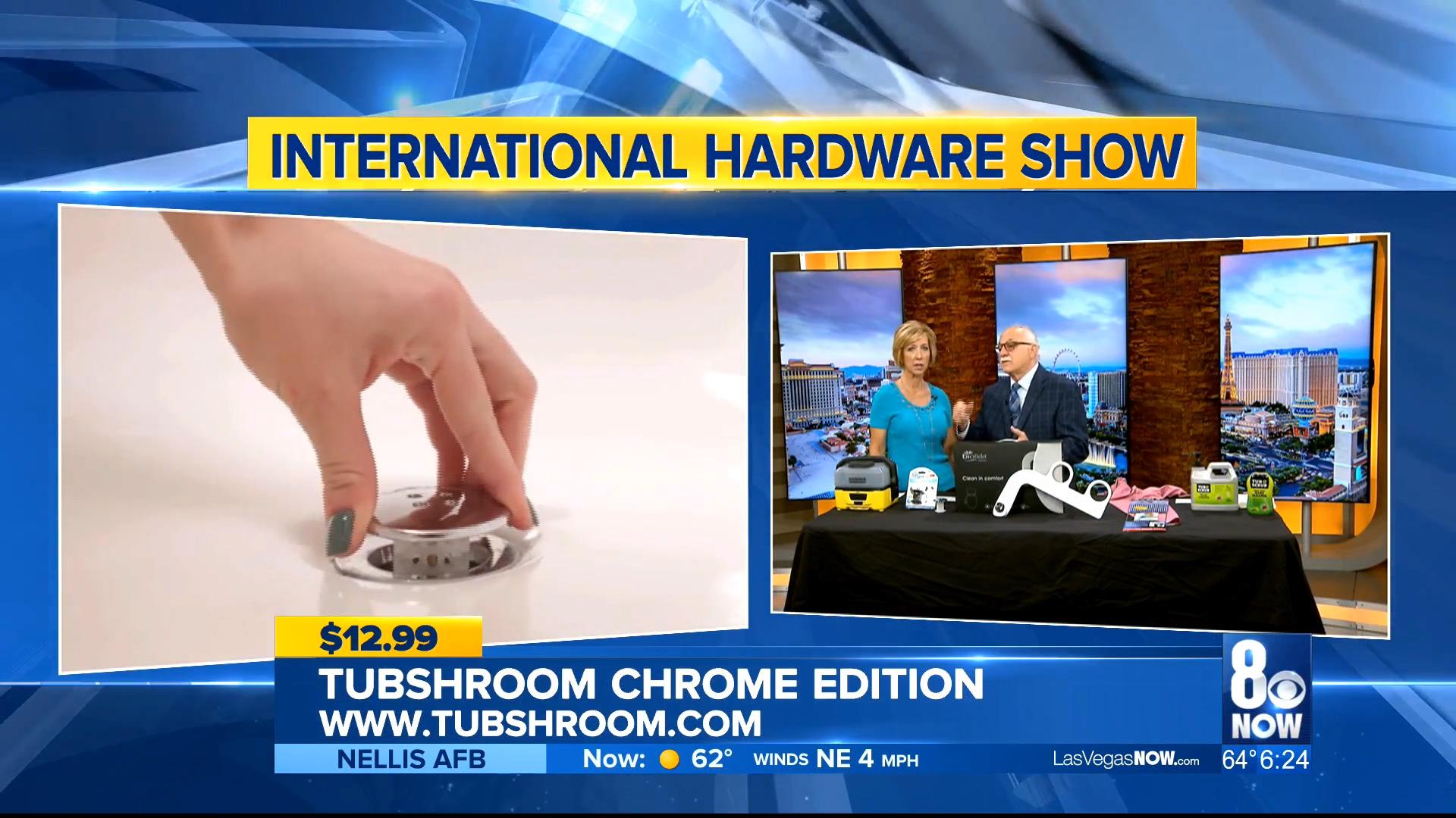 TUBSHROOM CHROME EDITION – BLACK OR CLEAR - $12.99Shop Now