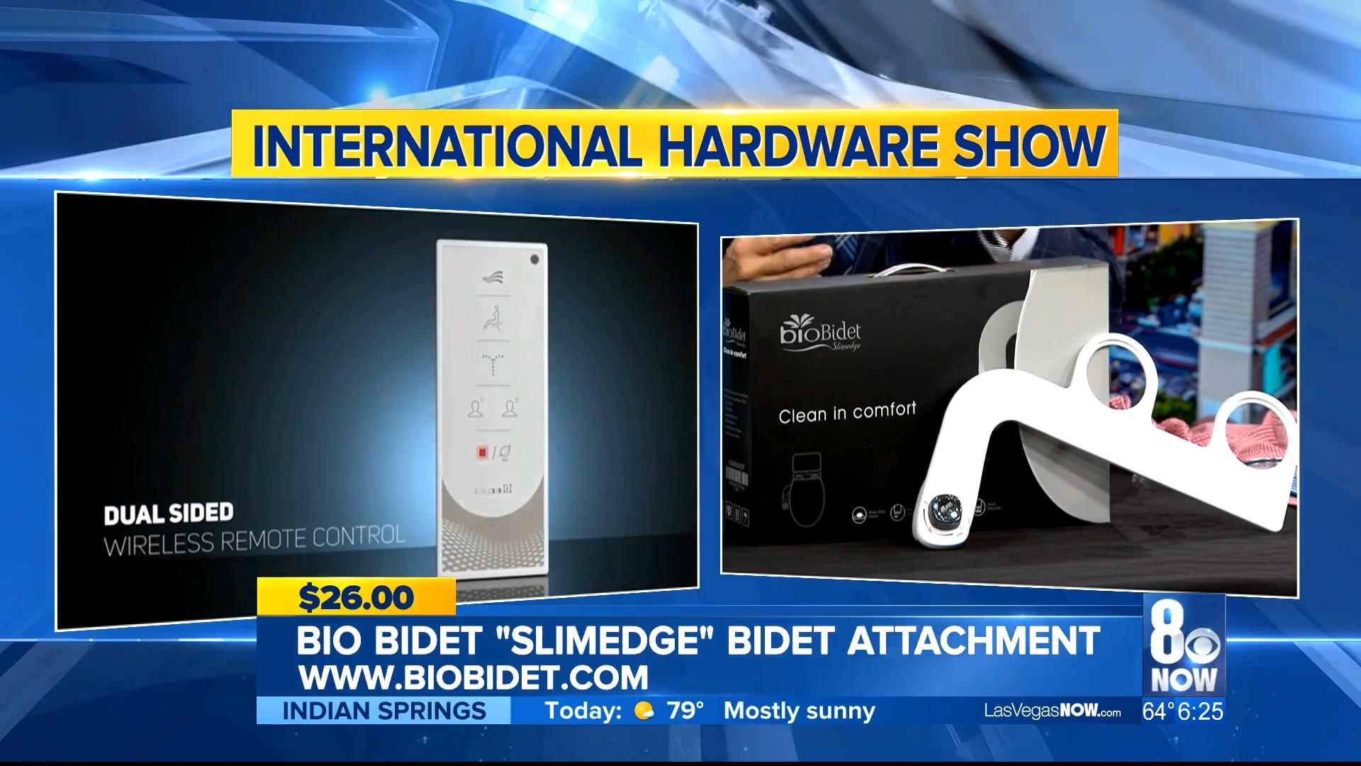 "BIO BIDET ""SLIMEDGE"" BIDET ATTACHMENT - $26.00Shop Now"