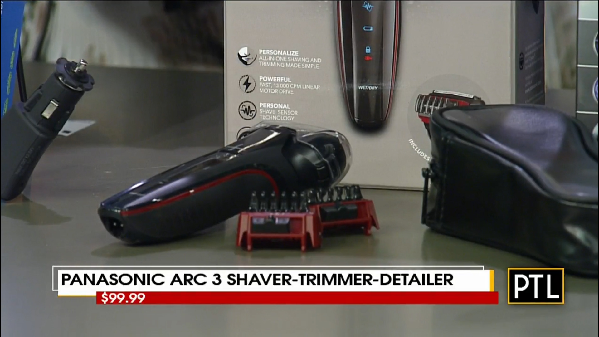PANASONIC ARC 3 SHAVER-TRIMMER-& DETAILER - $99.99Shop Now