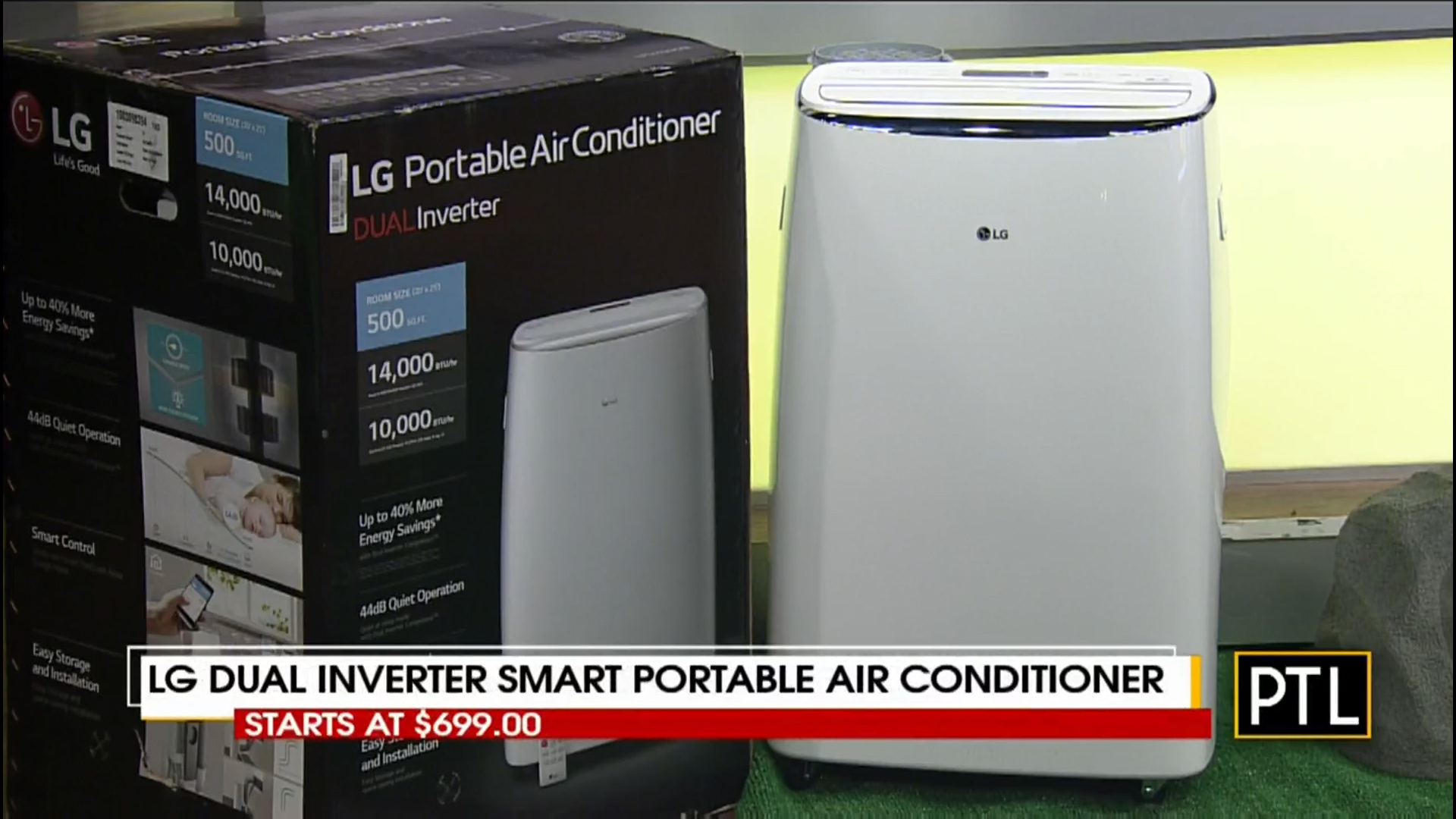 LG DUAL INVERTER SMART PORTABLE AIR CONDITIONER - Starts at $699.00Shop Now