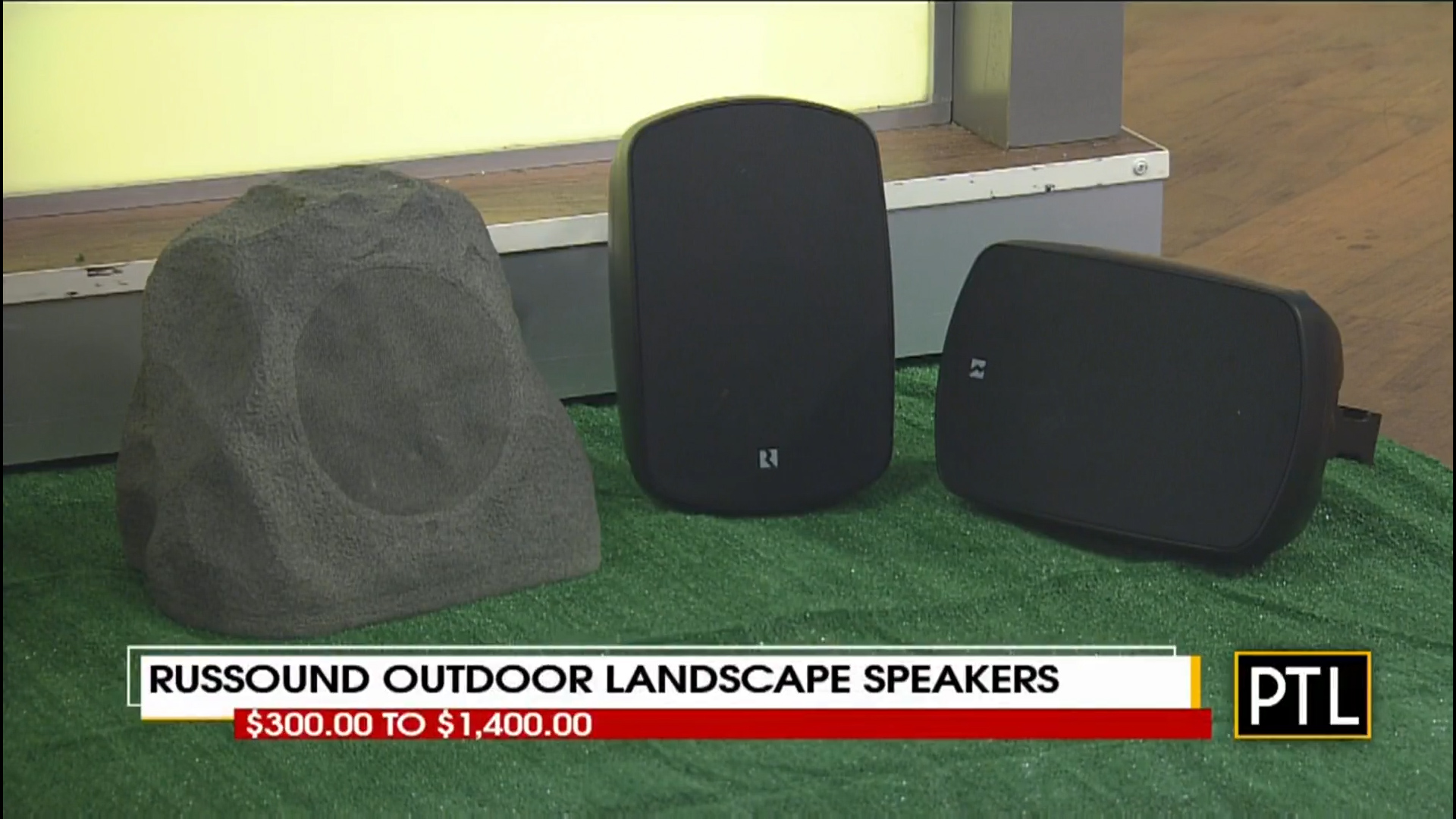 RUSSOUND OUTDOOR LANDSCAPE SPEAKERS - $300.00 to $1400.00Shop Now