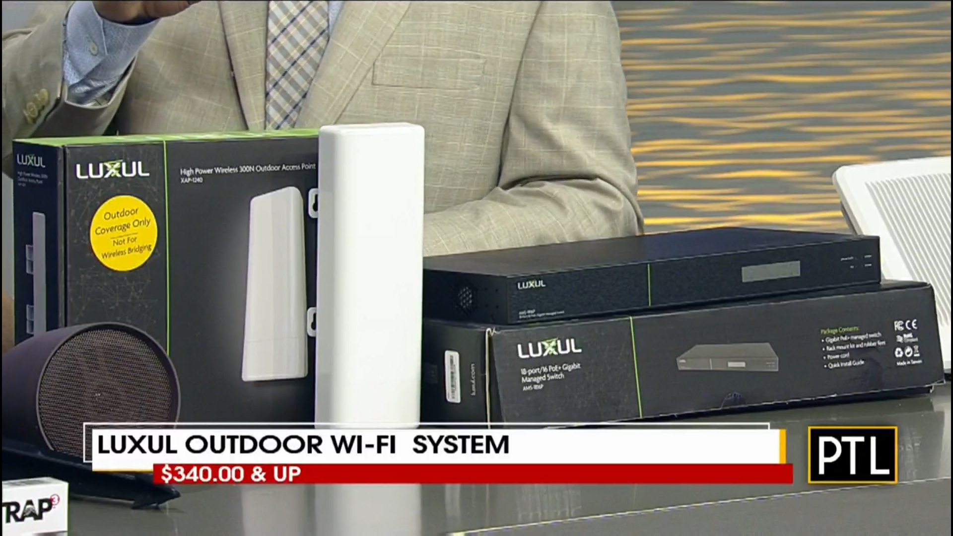 LUXUL OUTDOOR Wi-Fi SYSTEM - $340.00 & UpShop NowInstalled by Certified System Integrator