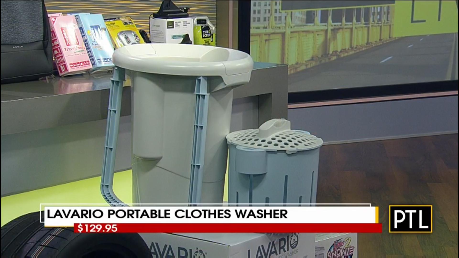 LAVARIO PORTABLE CLOTHES WASHER - $129.95Shop Now