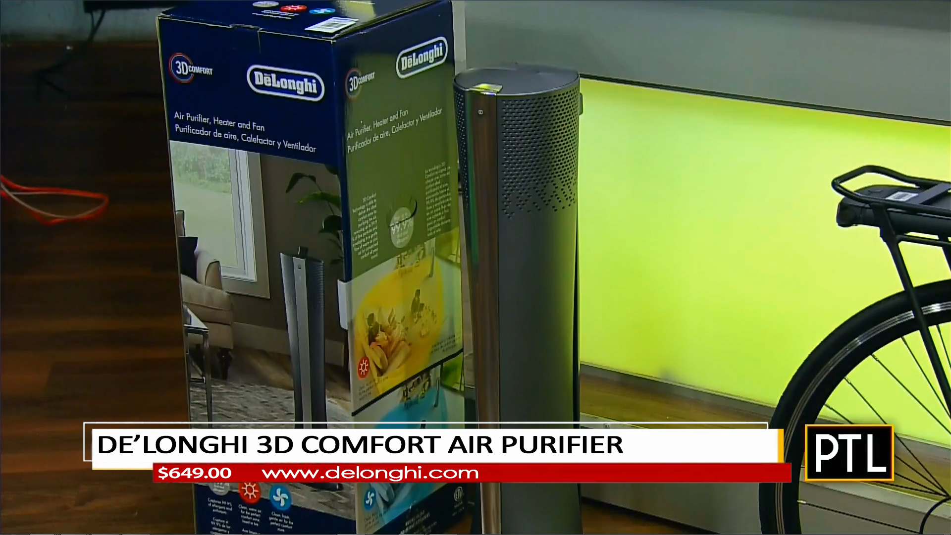DE'LONGHI 3D COMFORT AIR PURIFIER - $649.00Shop Now