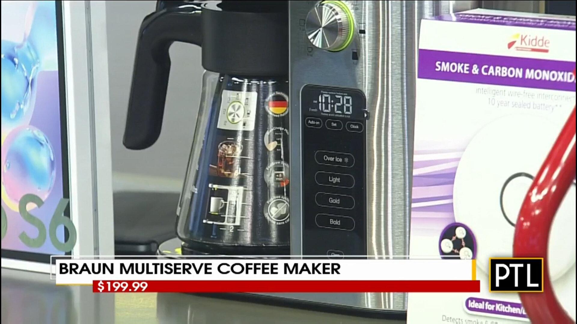 BRAUN MULTISERVE COFFEE MAKER - $199.99Shop Now