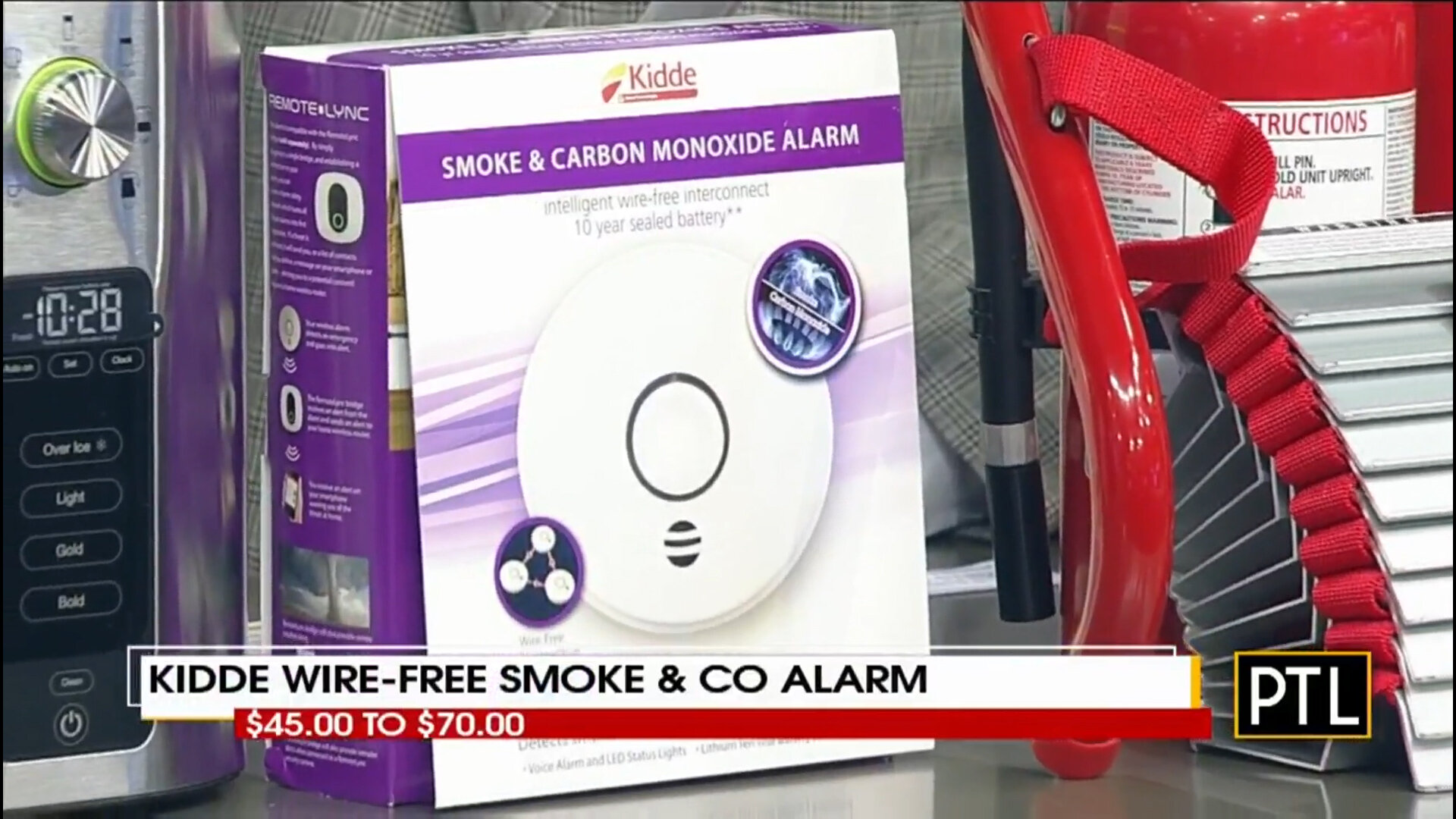 KIDDE INTELLIGENT WIRE-FREE INTERCONNECTED SMOKE & CO ALARM - $45.00 to $70.00Shop Now