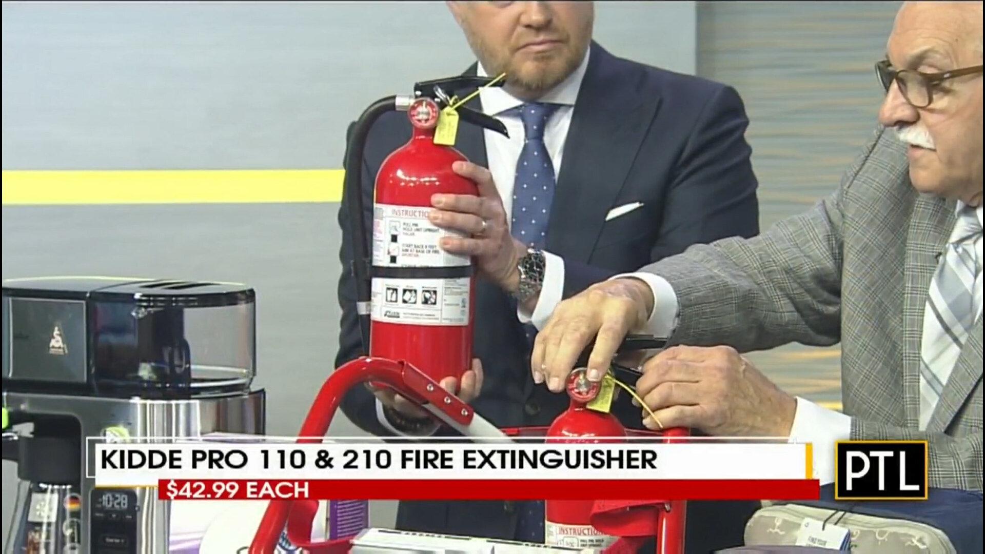 KIDDE PRO 110 & 210 FIRE EXTINGUISHER - $49.99Shop Now