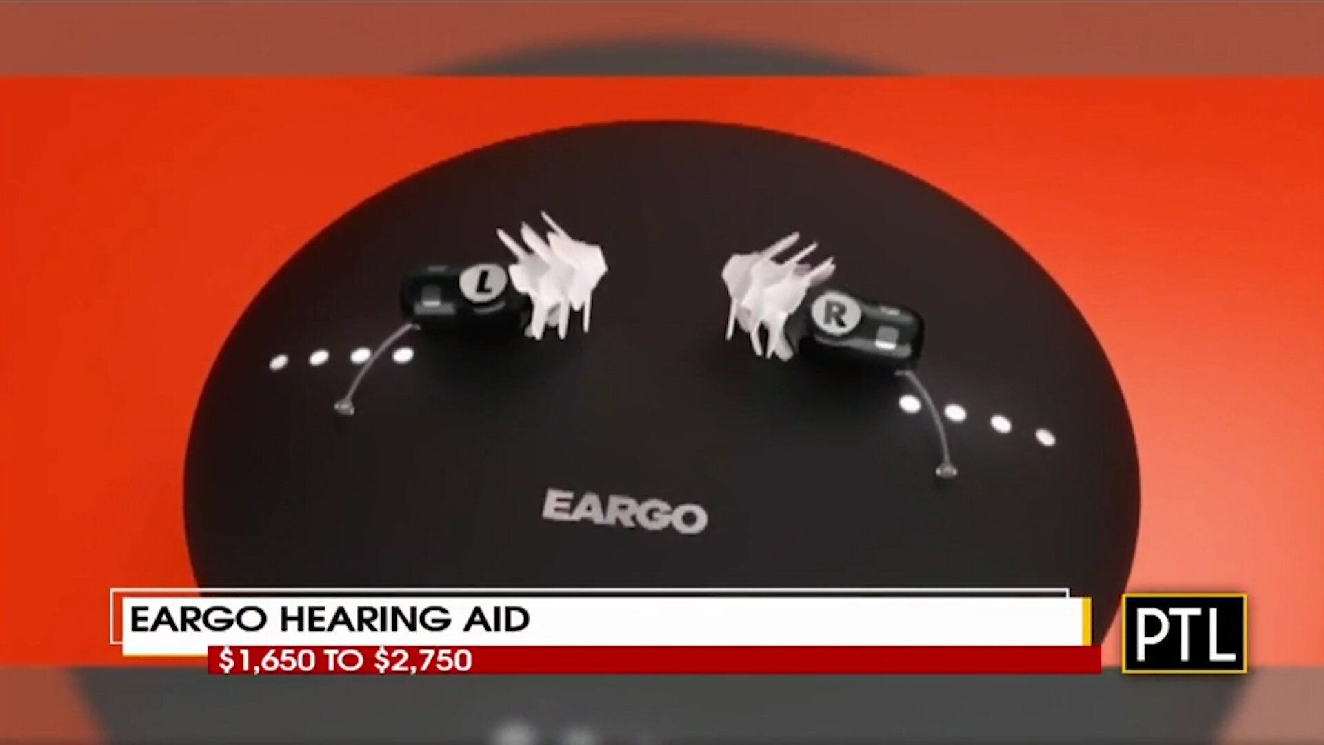 EARGO HEARING AID - $1,650 to $2,750Shop Now