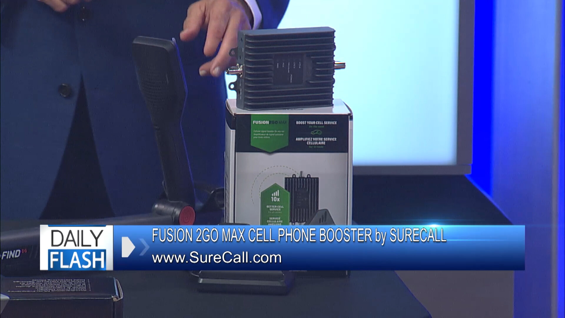 """""""FUSION 2GO MAX"""" CELL PHONE BOOSTER by SURECALL - $499Shop Now"""