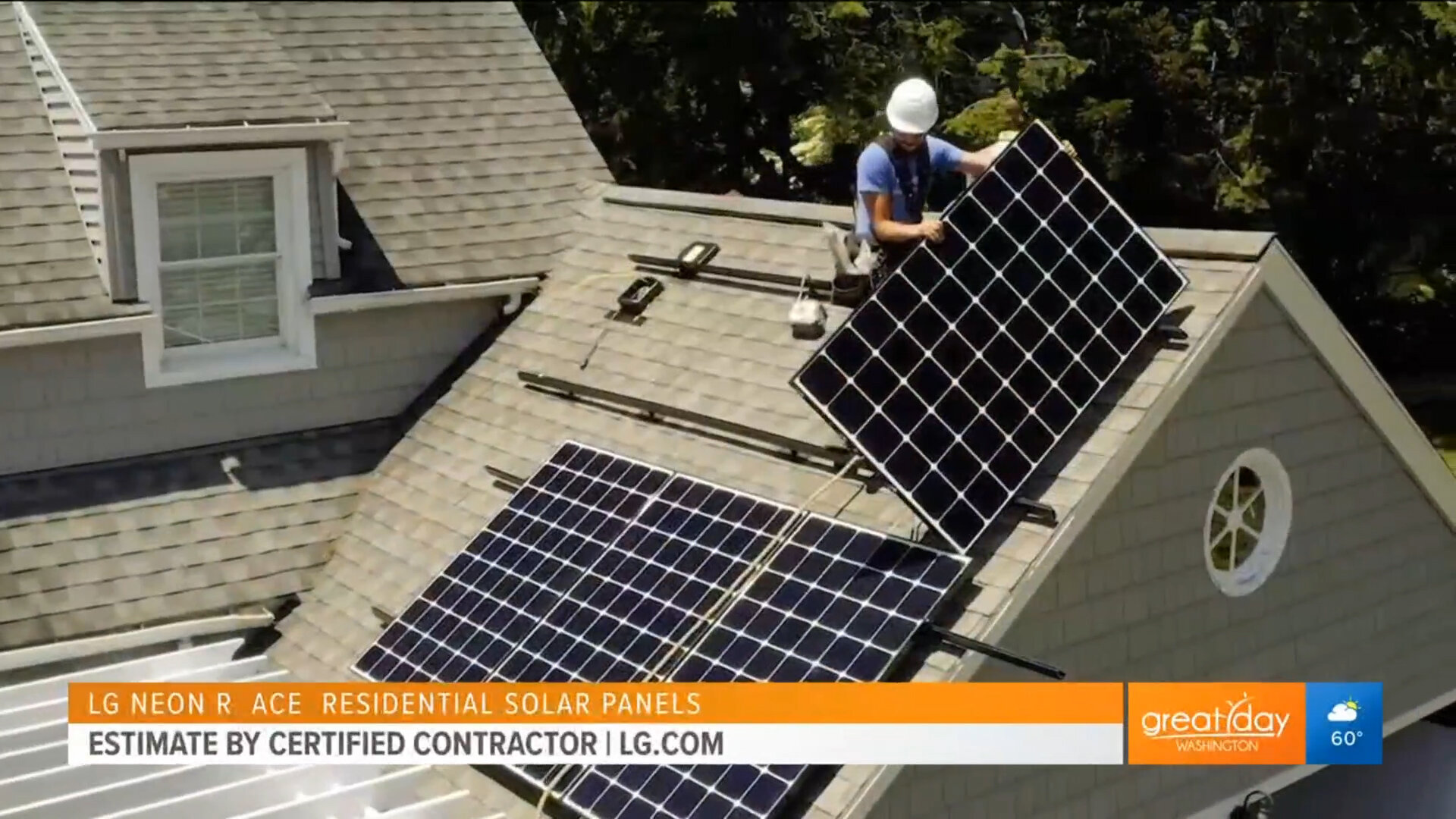 LG NeON R aCE RESIDENTIAL SOLAR PANELS - Estimate by Certified ContractorShop Now