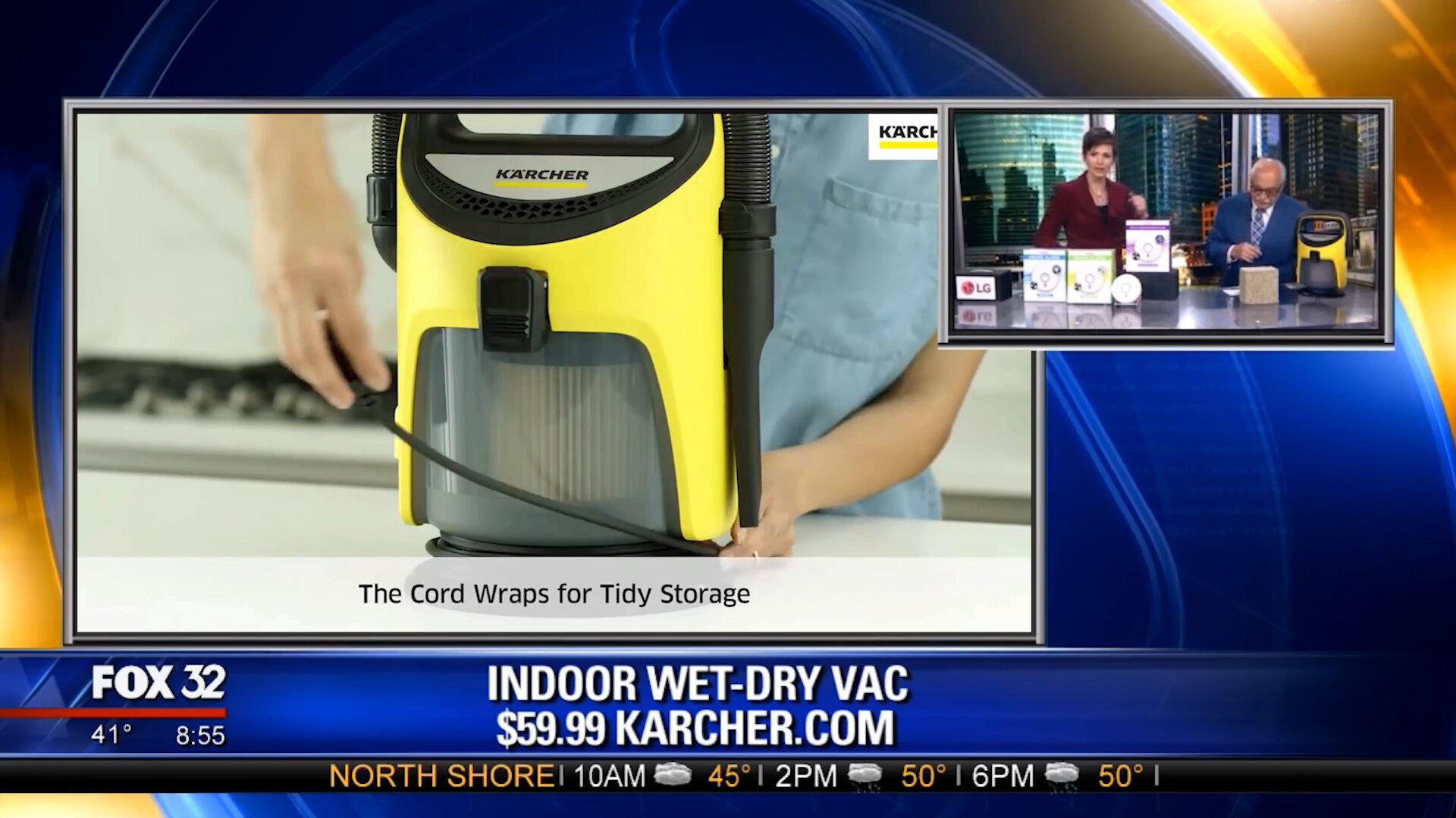 KARCHER K-TV1 INDOOR WET-DRY VAC - $59.99Shop Now