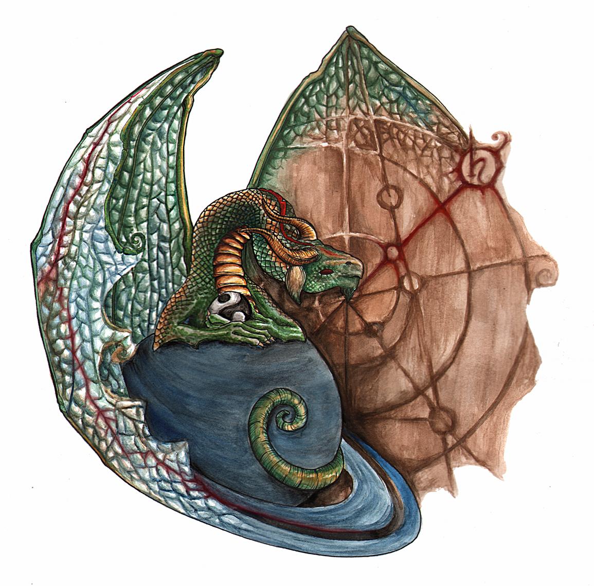 Saturn Dragon logo