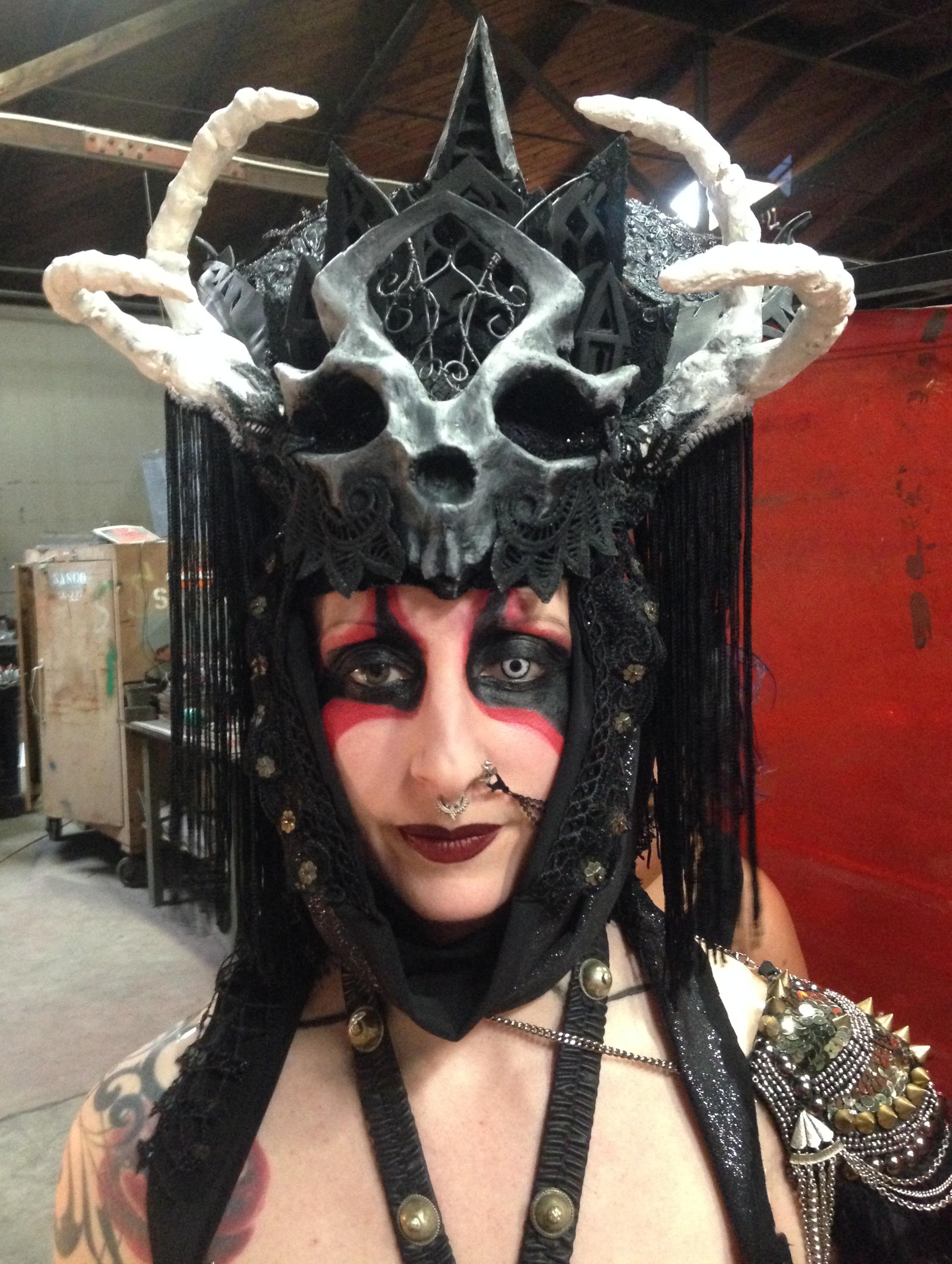 Queen of Death Headdress & Epaulette