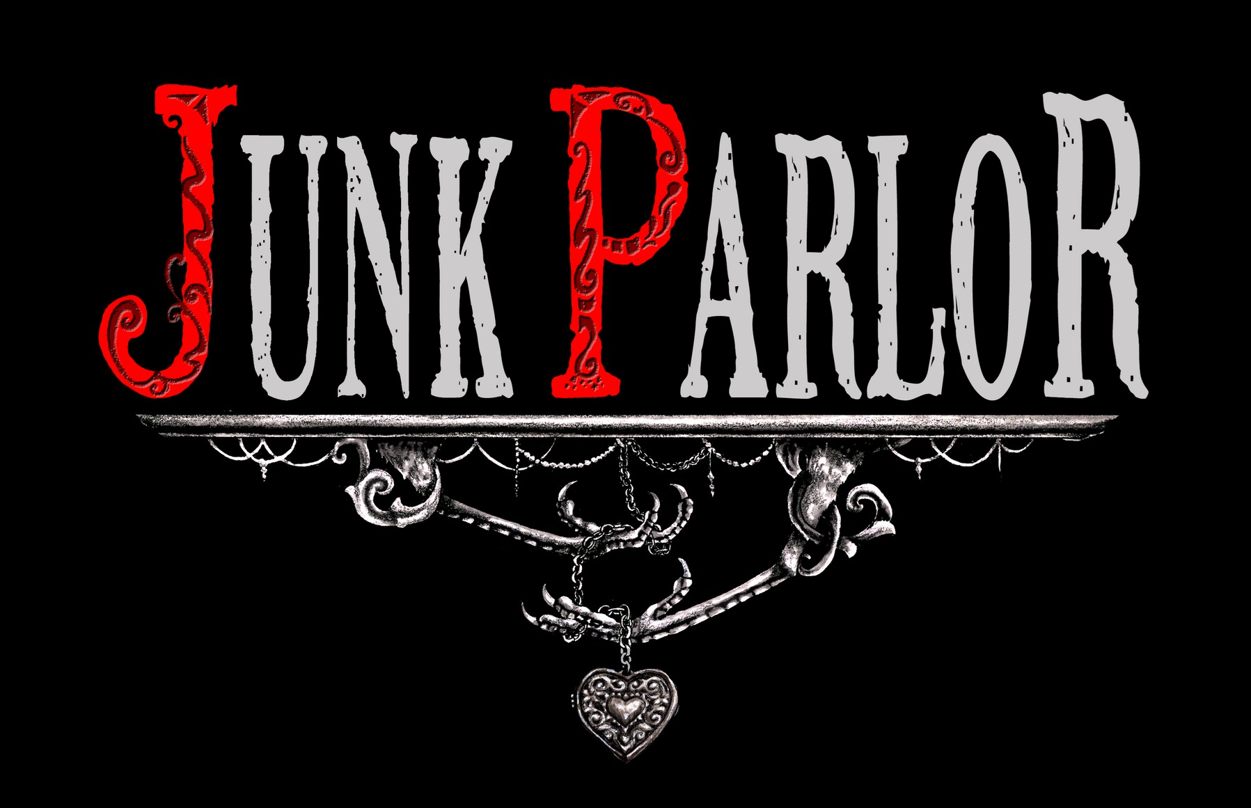 Junk Parlor band logo alt version