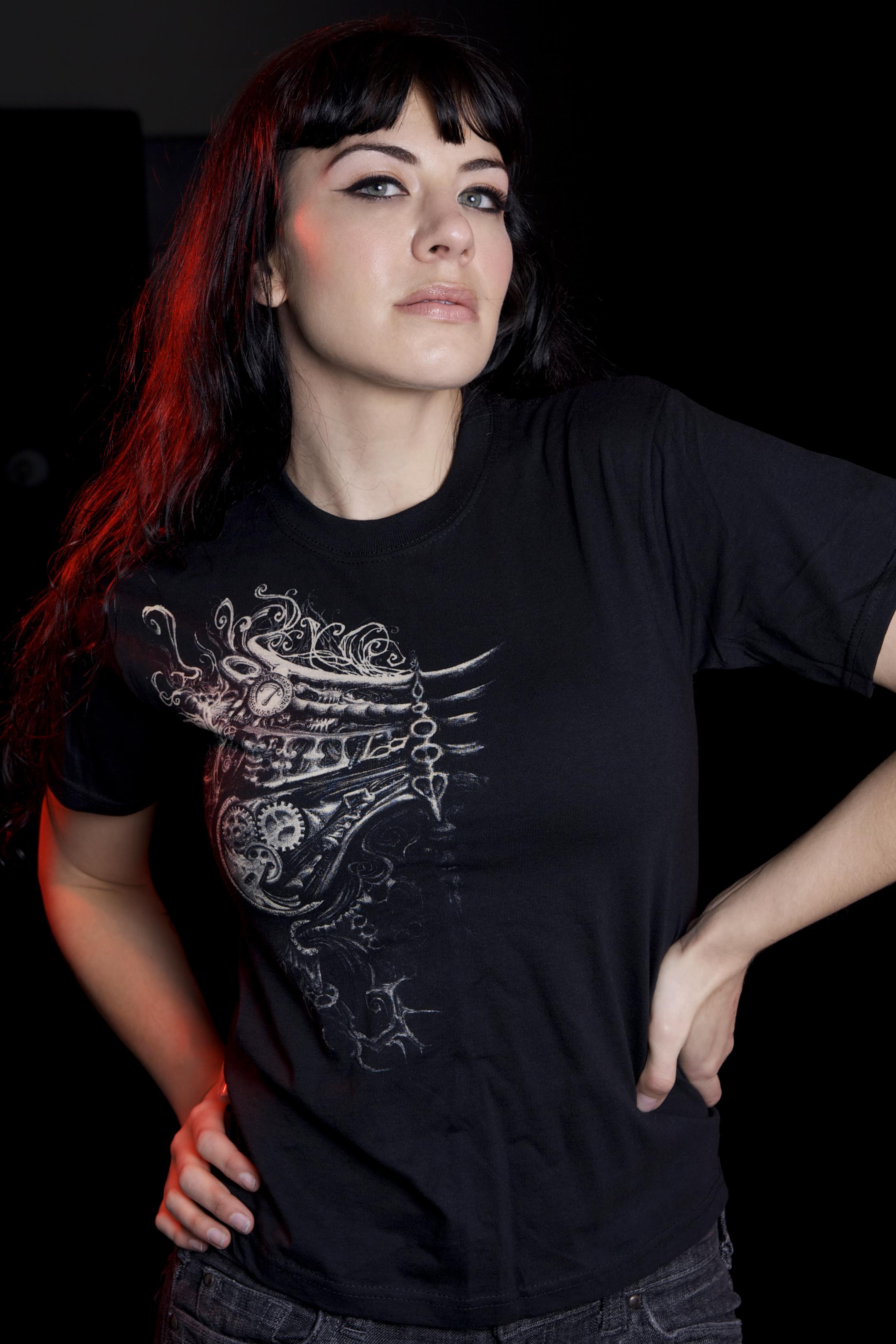 Nightmare Shirts Ribcage design