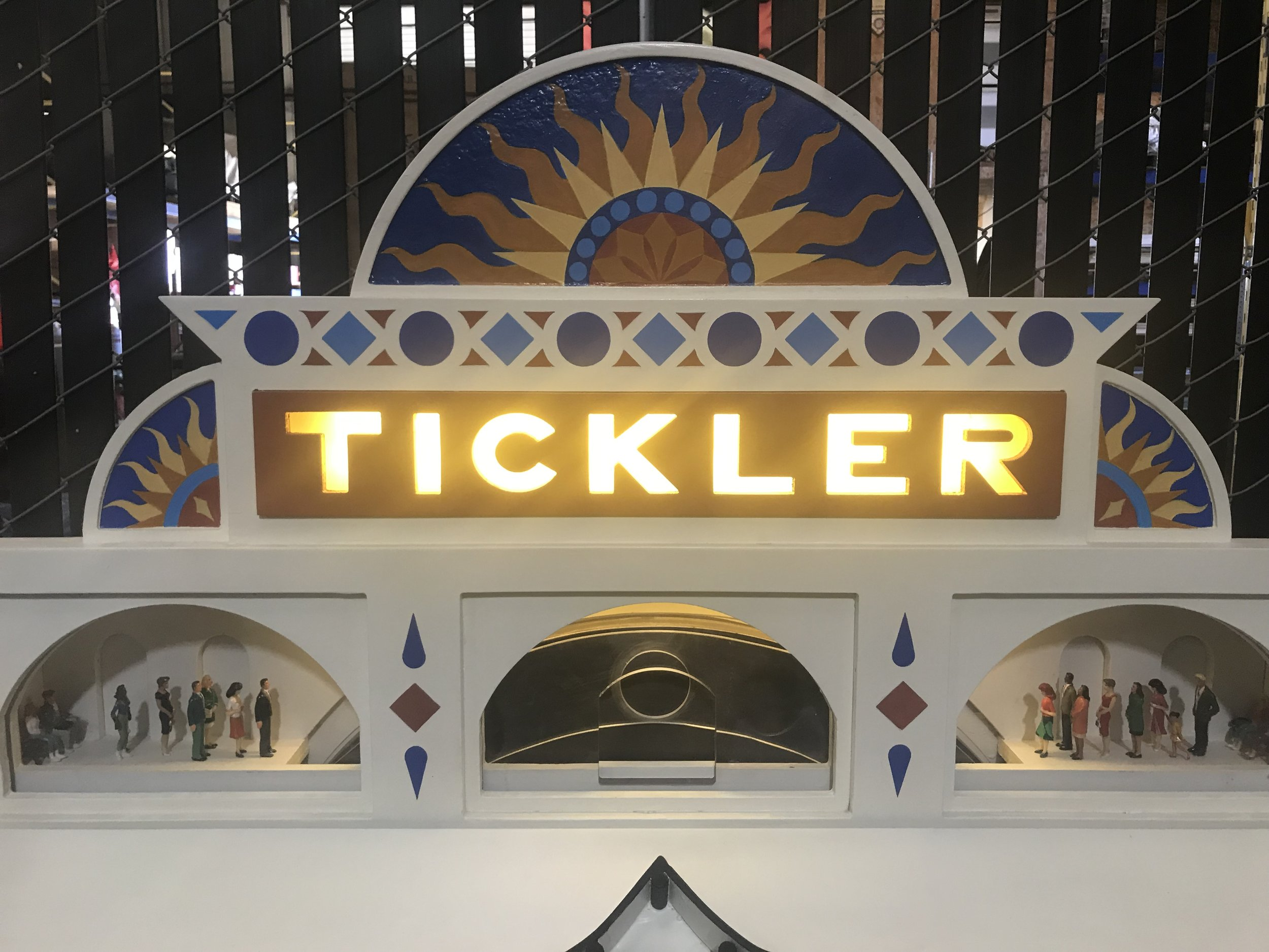 Tickler signage & ornamentation