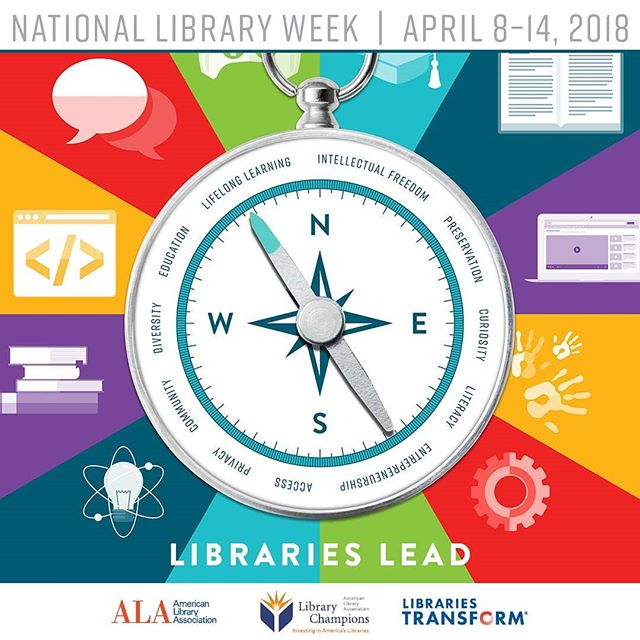 It's #NationalLibraryWeek! Libraries have been an important part of my life and career. 📚 I go to the local library every week and am always grateful for its resources and programming. If you don't currently have a library card, it's a great time to get one!