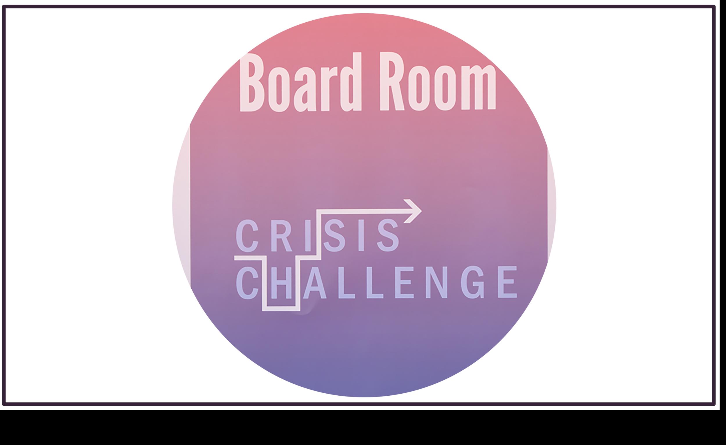 Crisis Challenge |  Sanger Leadership Center